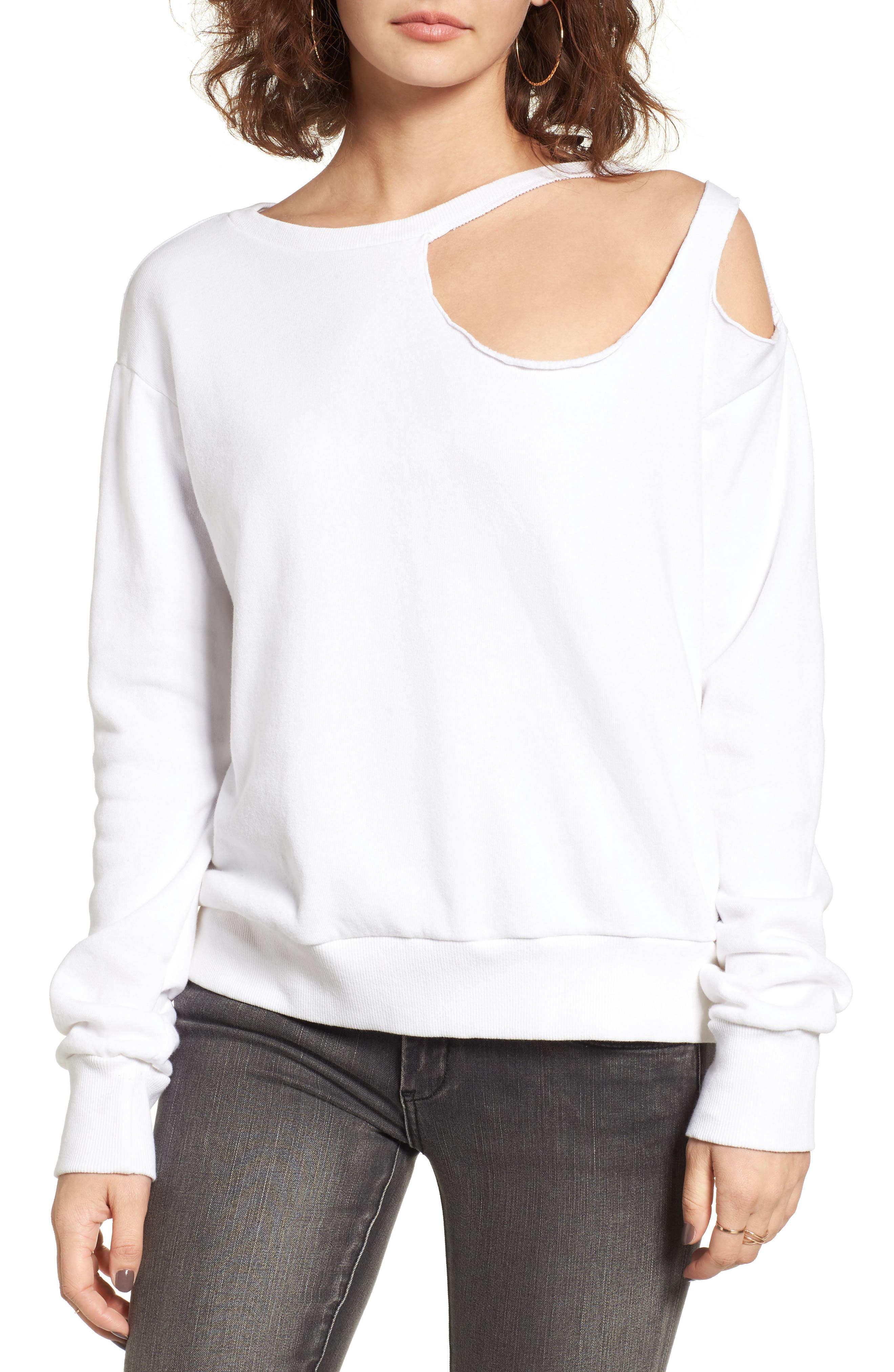 LNA Gator Ripped Sweatshirt