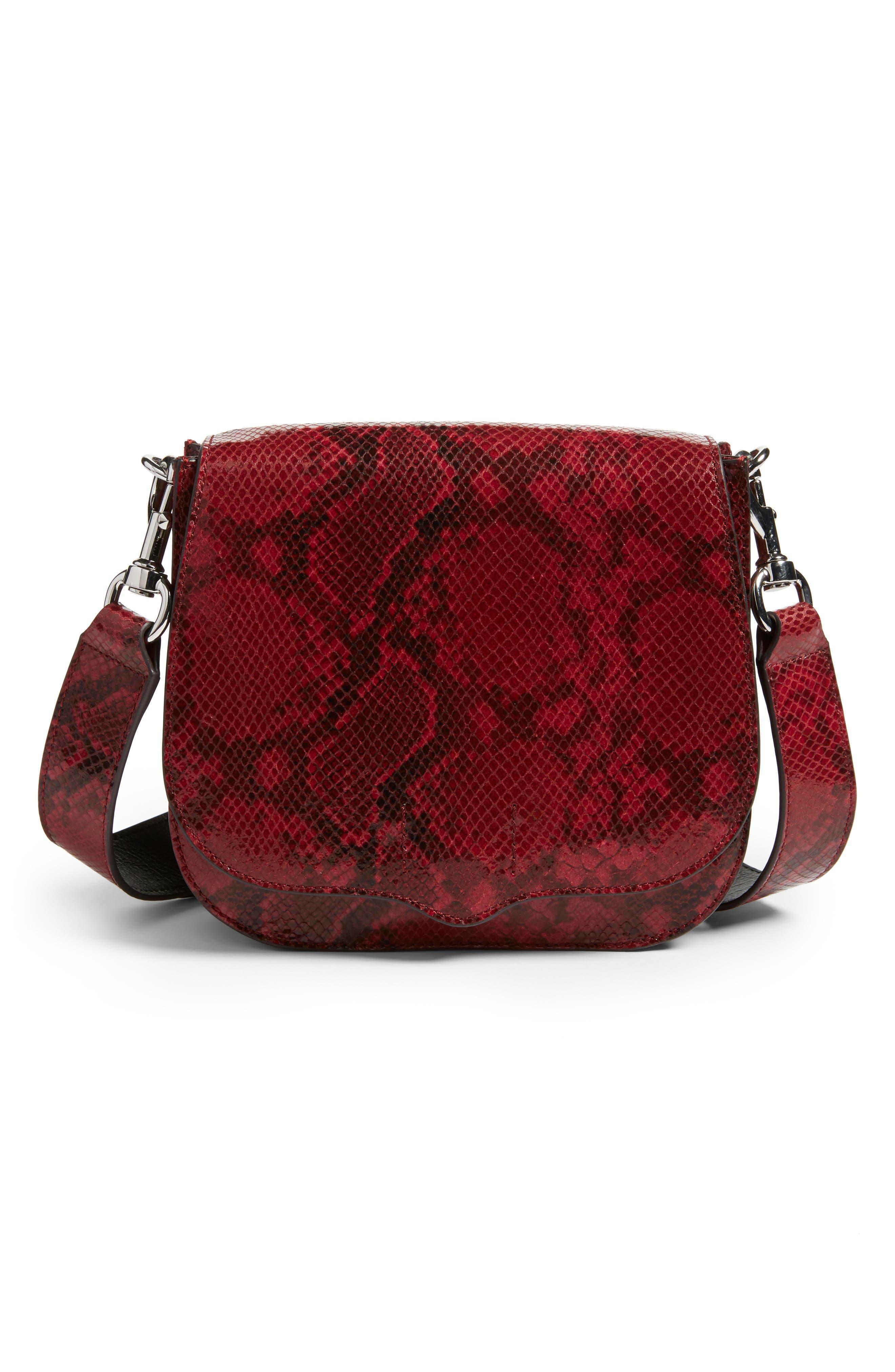Rebecca Minkoff Large Sunday Leather Saddle Bag
