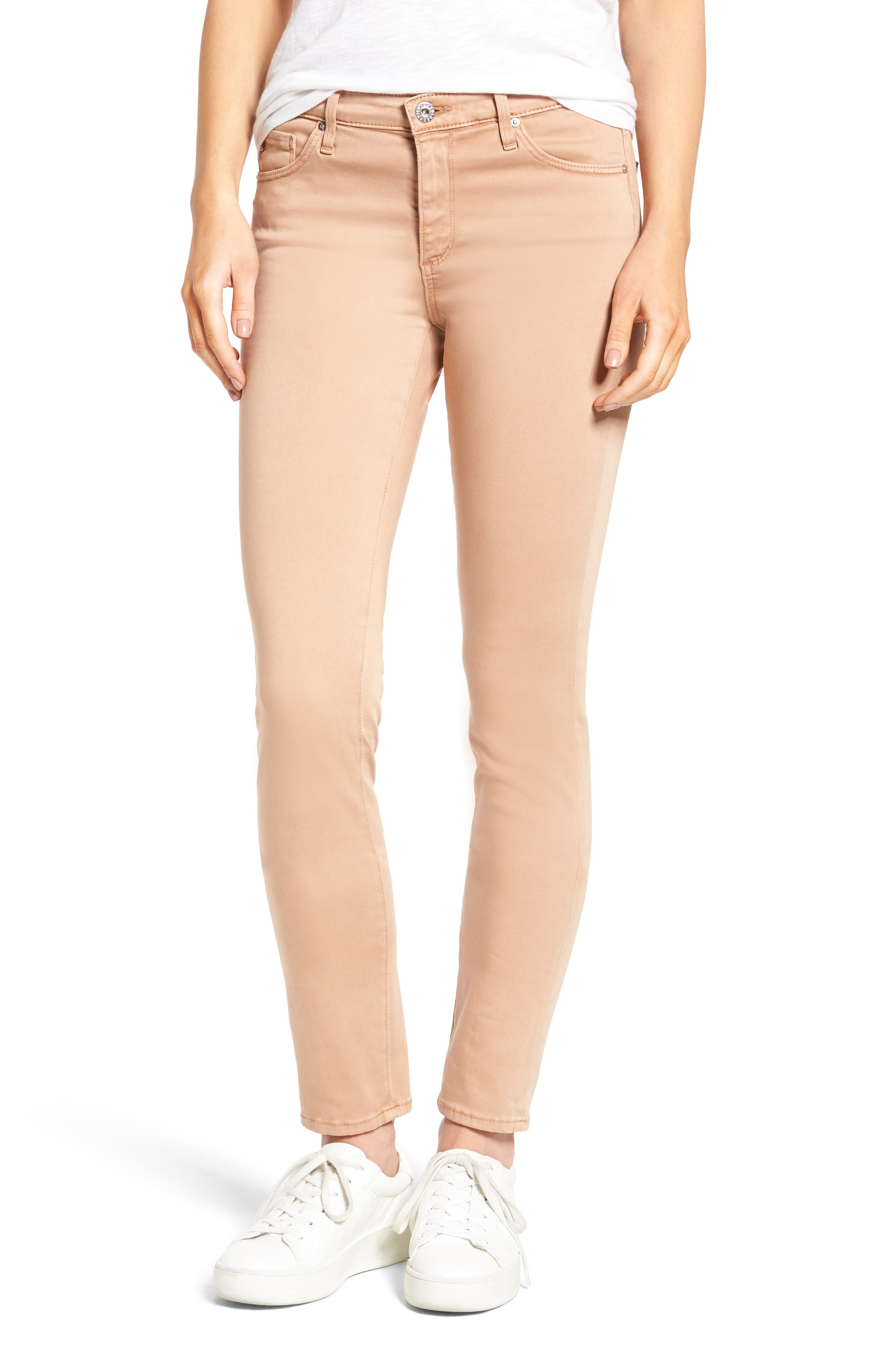 Alternate Image 1 Selected - AG 'The Prima' Cigarette Leg Skinny Jeans