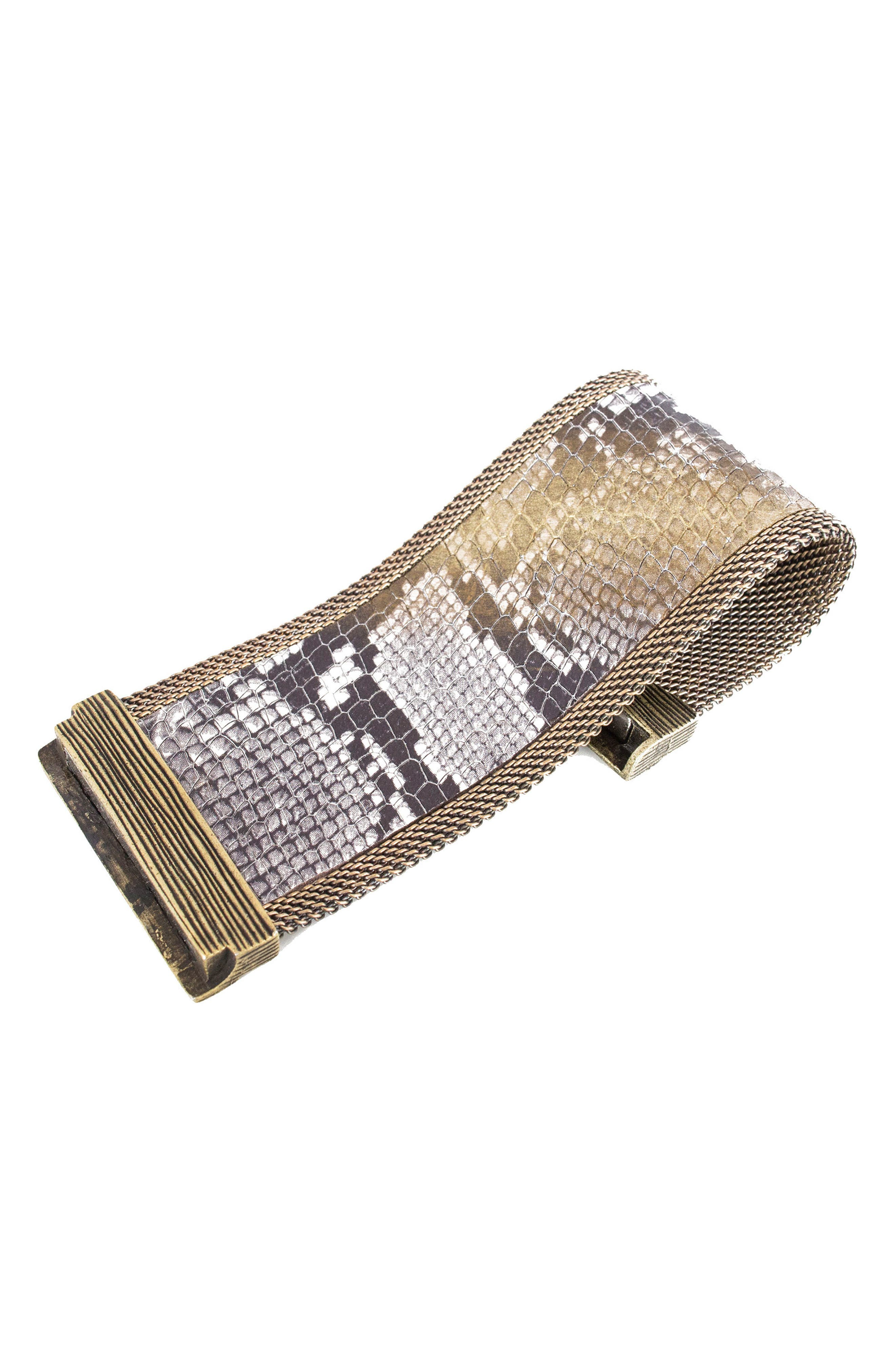 Alternate Image 1 Selected - Cynthia Desser Genuine Snakeskin Cuff