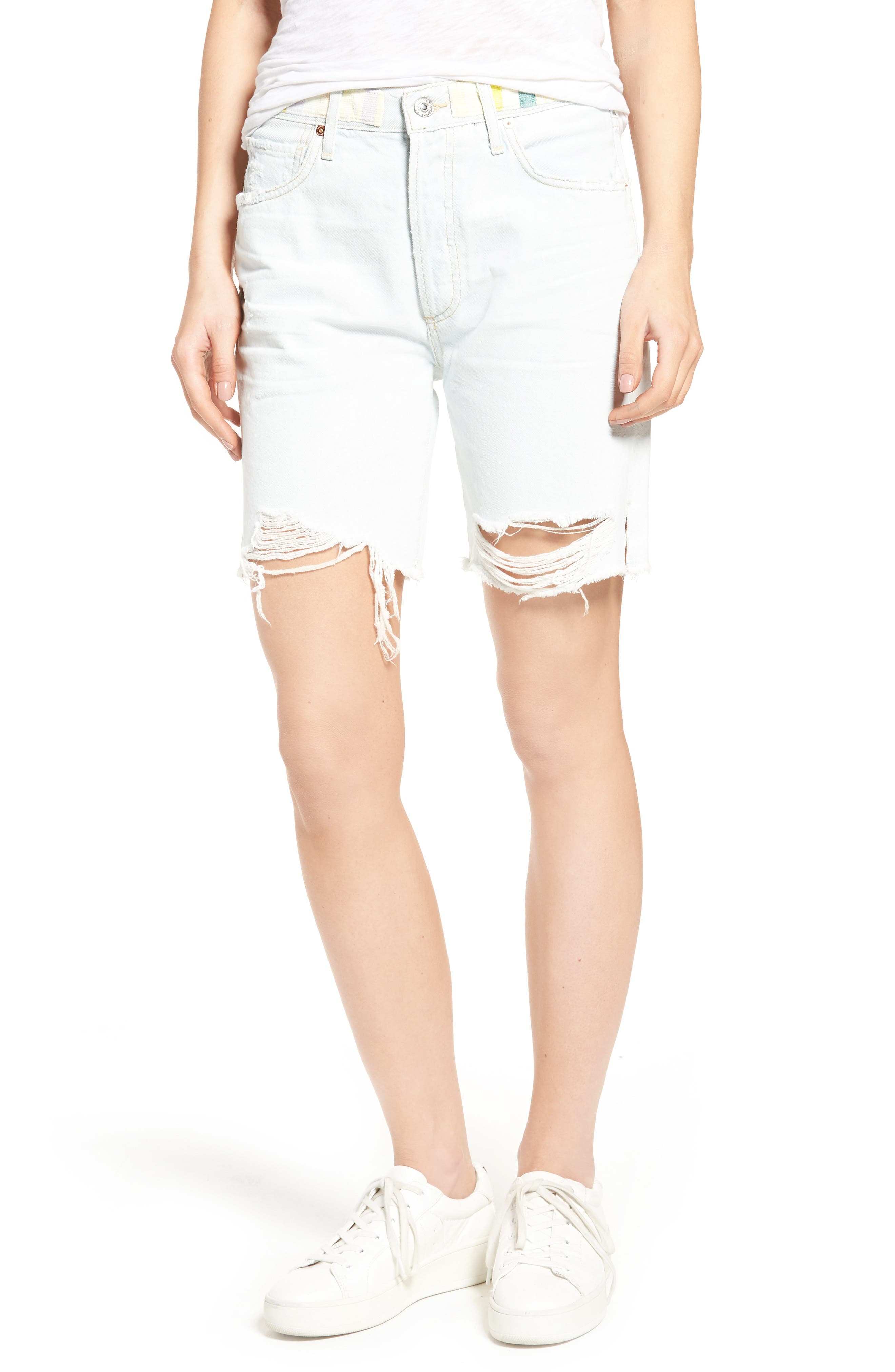 Citizens of Humanity Liya High Rise Classic Fit Shorts (Free Spirit)