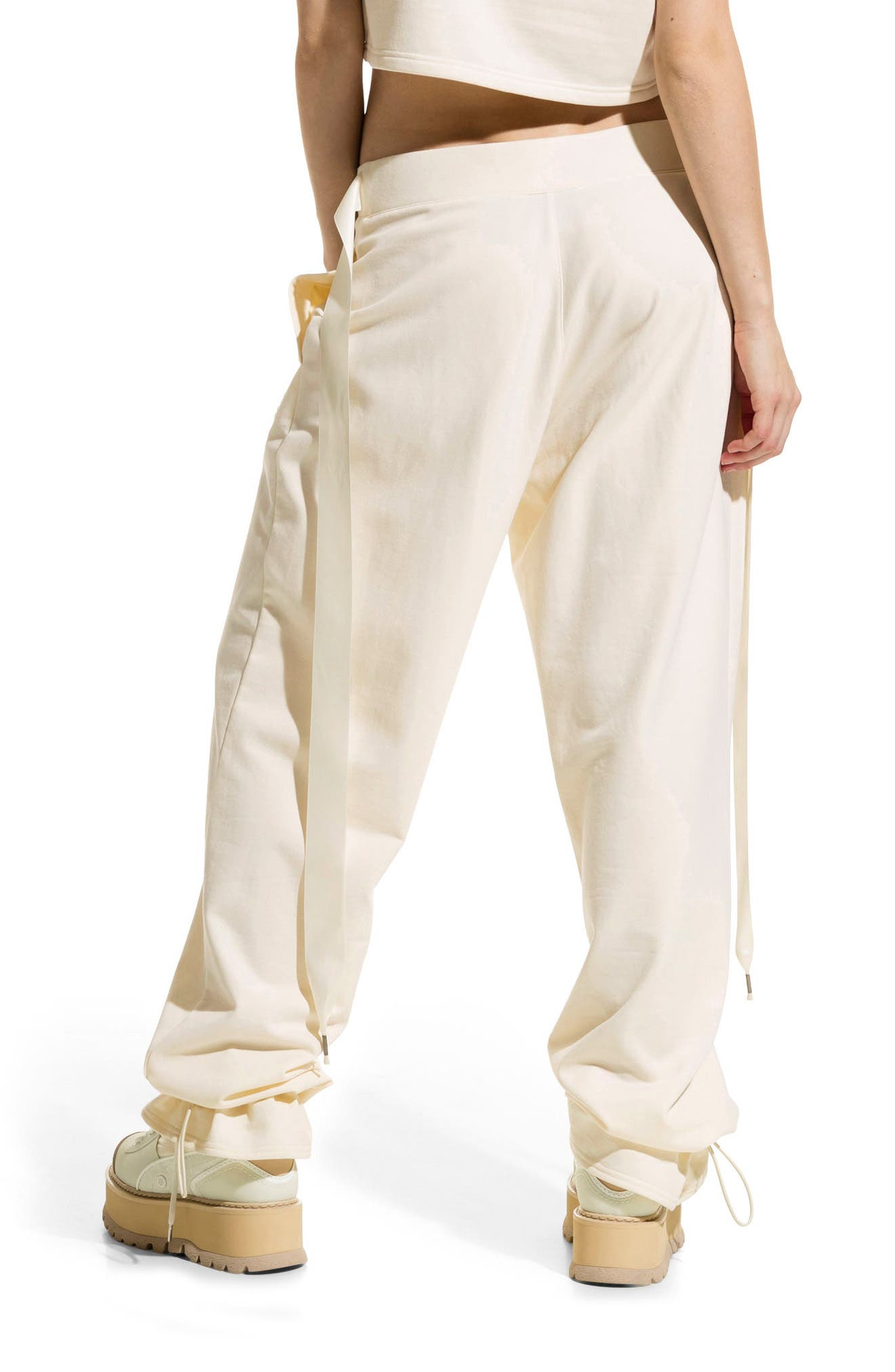 Alternate Image 3  - FENTY PUMA by Rihanna Gathered Ankle Sweatpants