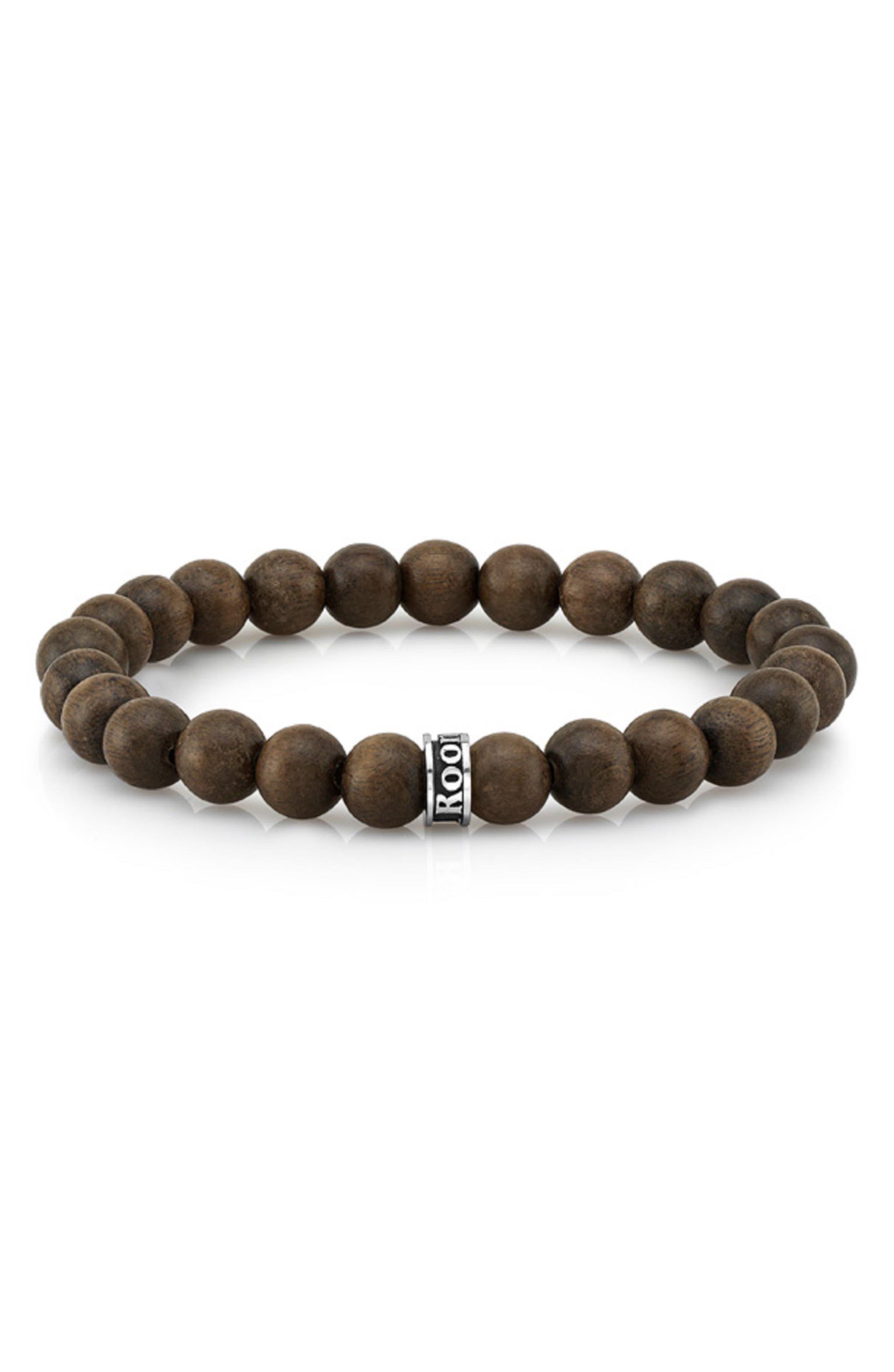 Room 101 Wood Bead Bracelet