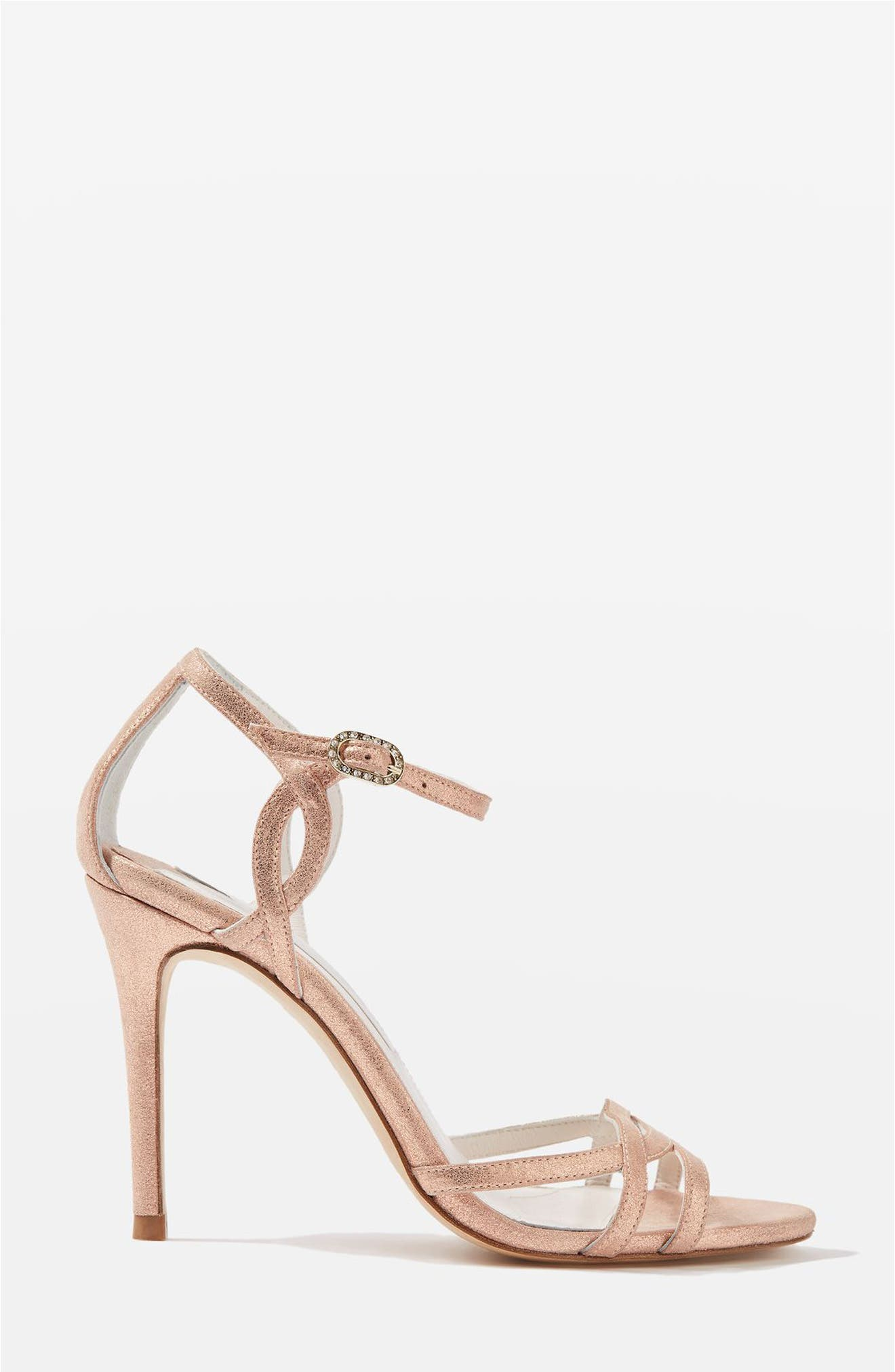 Topshop Bride Belle Strappy Sandals (Women)
