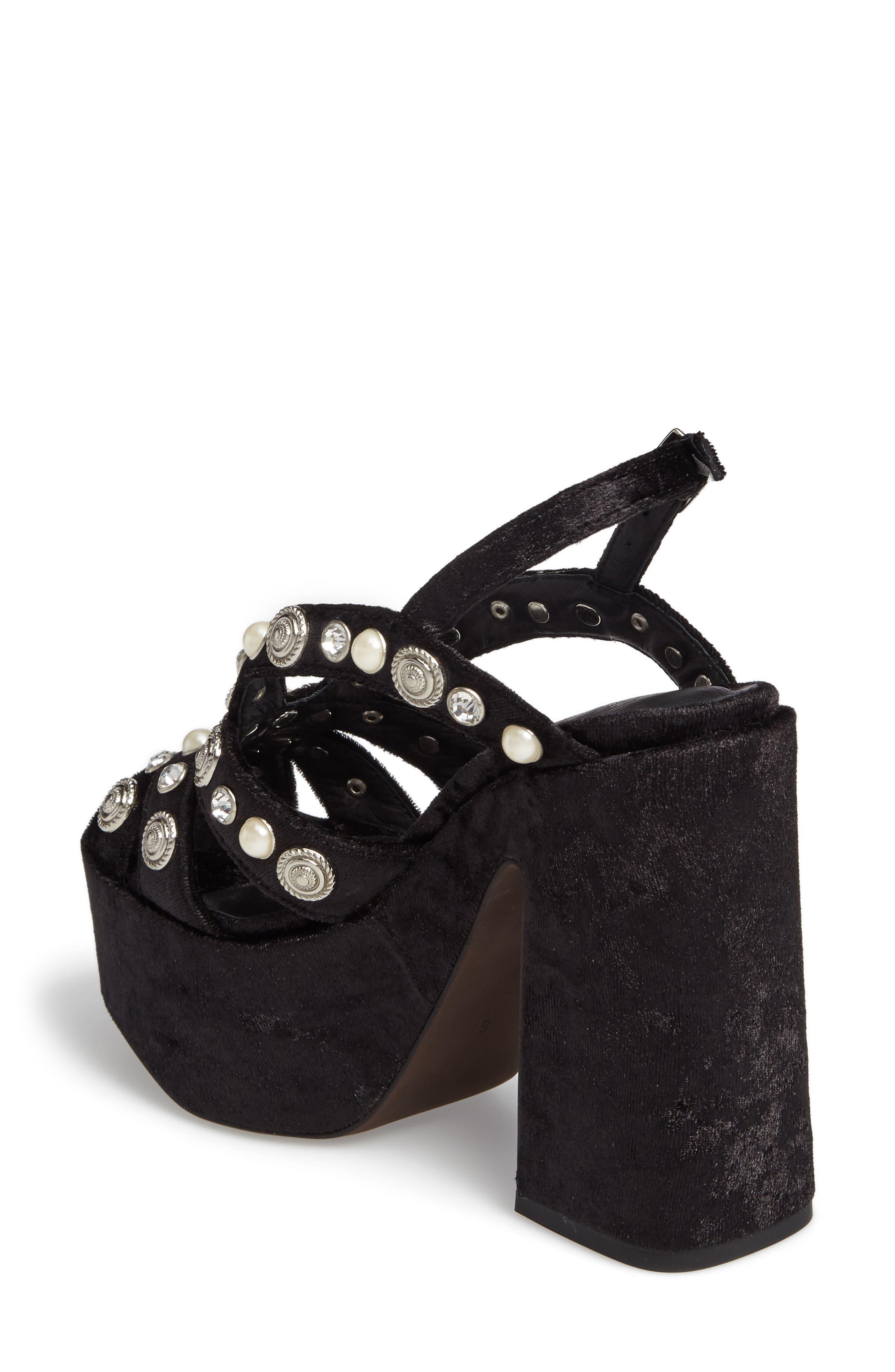 Alternate Image 2  - Jeffrey Campbell Briston Embellished Platform Sandal (Women)