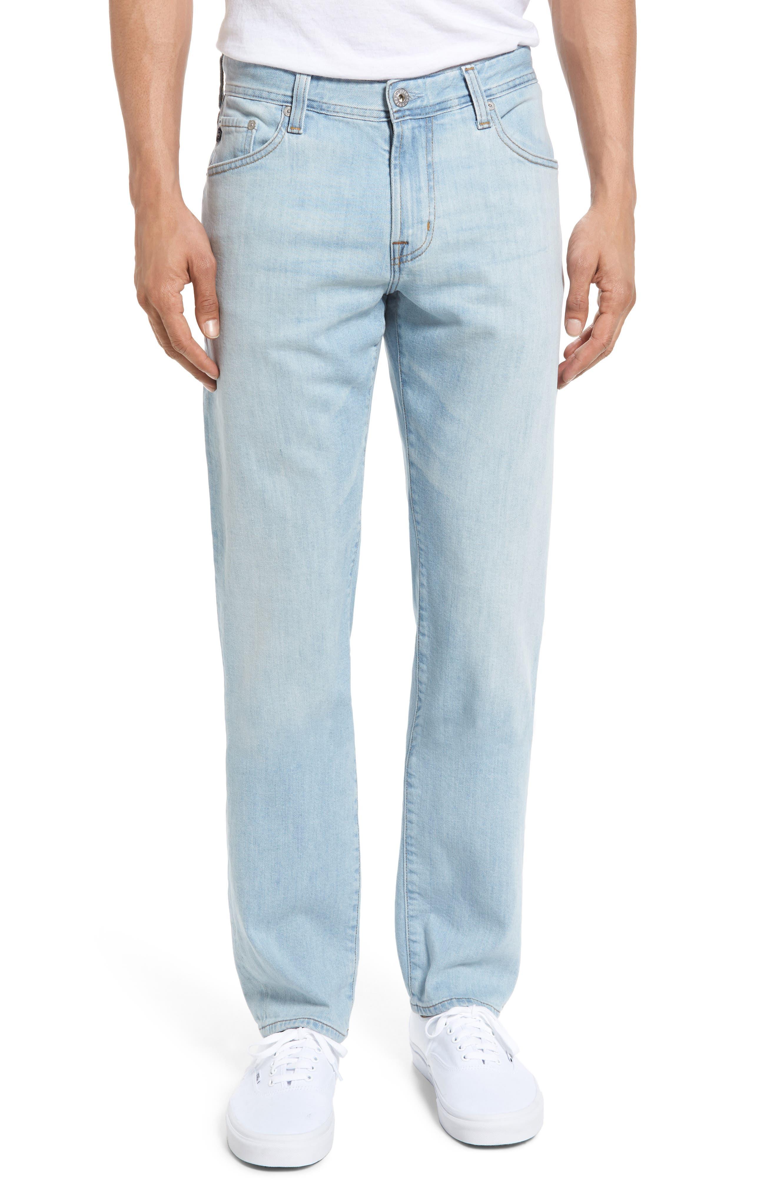 AG Graduate Slim Straight Leg Jeans (Alpha)