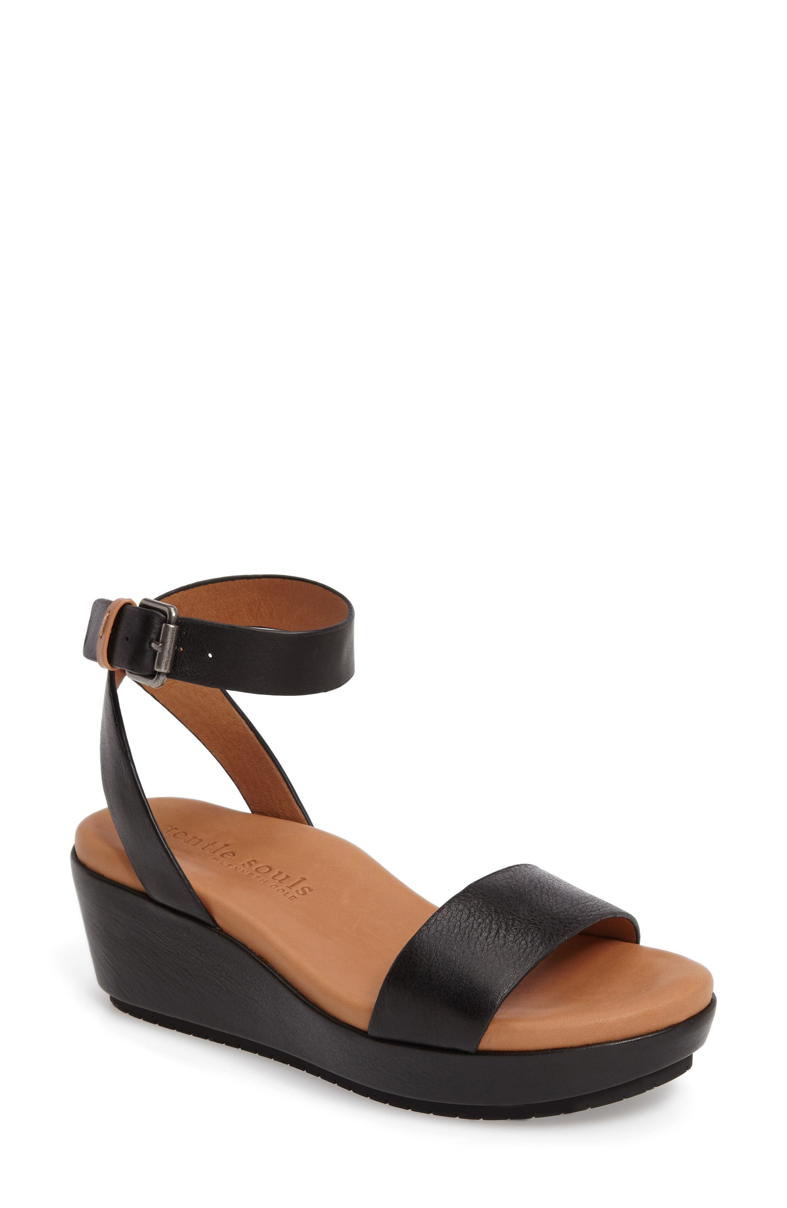 Gentle Souls Morrie Wedge Sandal (Women)
