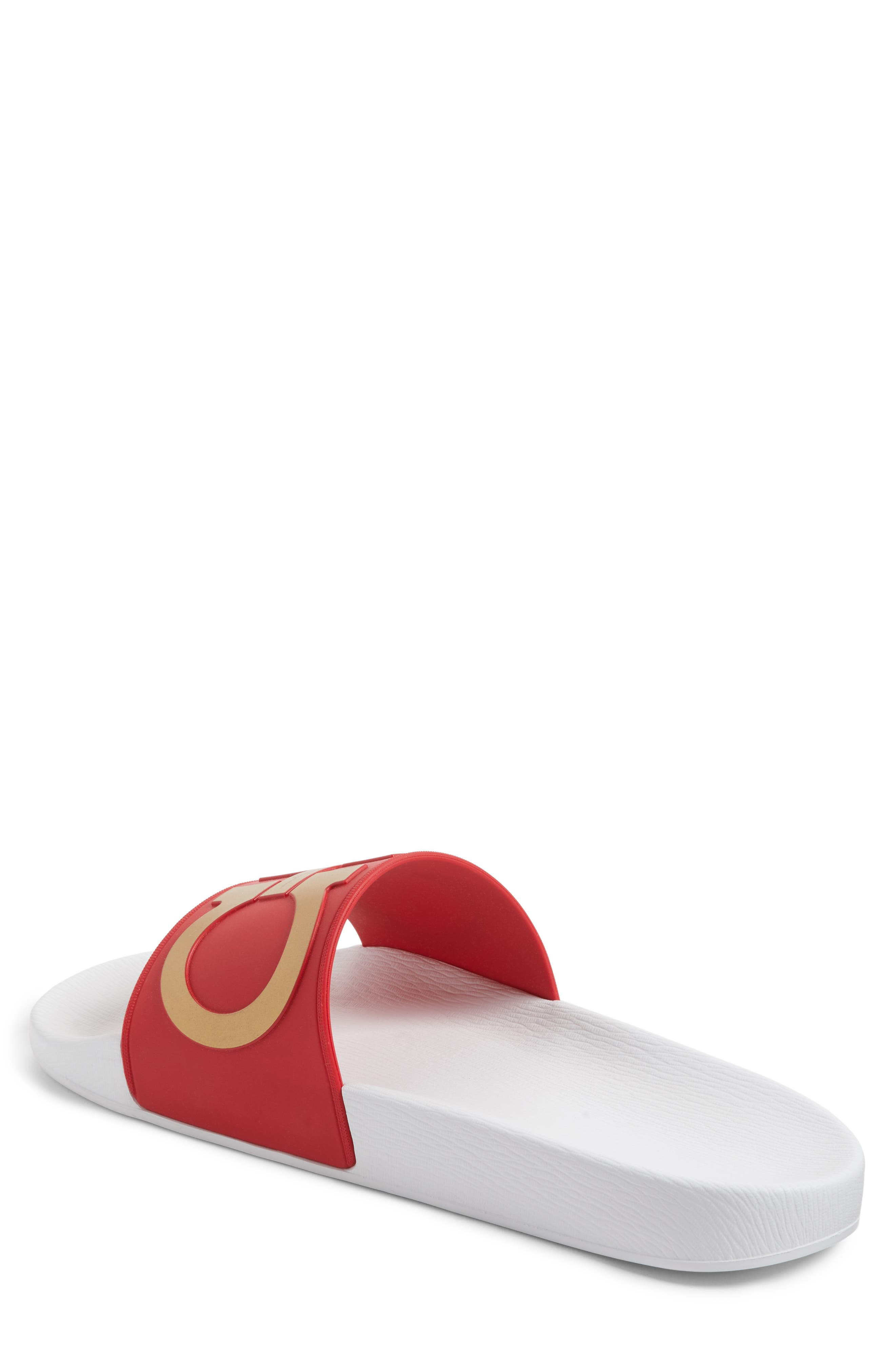 Alternate Image 2  - Salvatore Ferragamo 'Groove' Slide Sandal (Men)