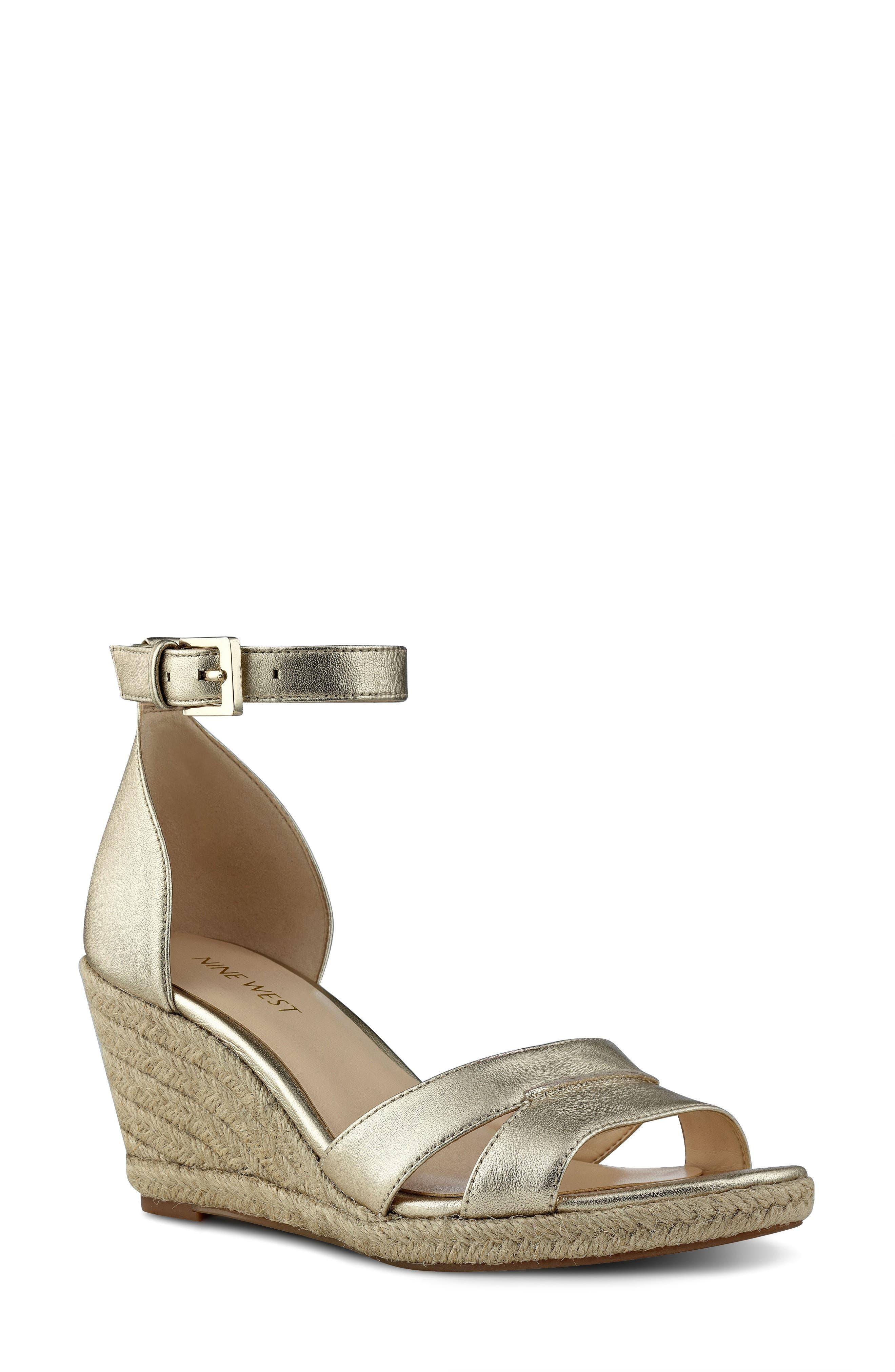 Nine West Jabrina Wedge Sandal (Women)
