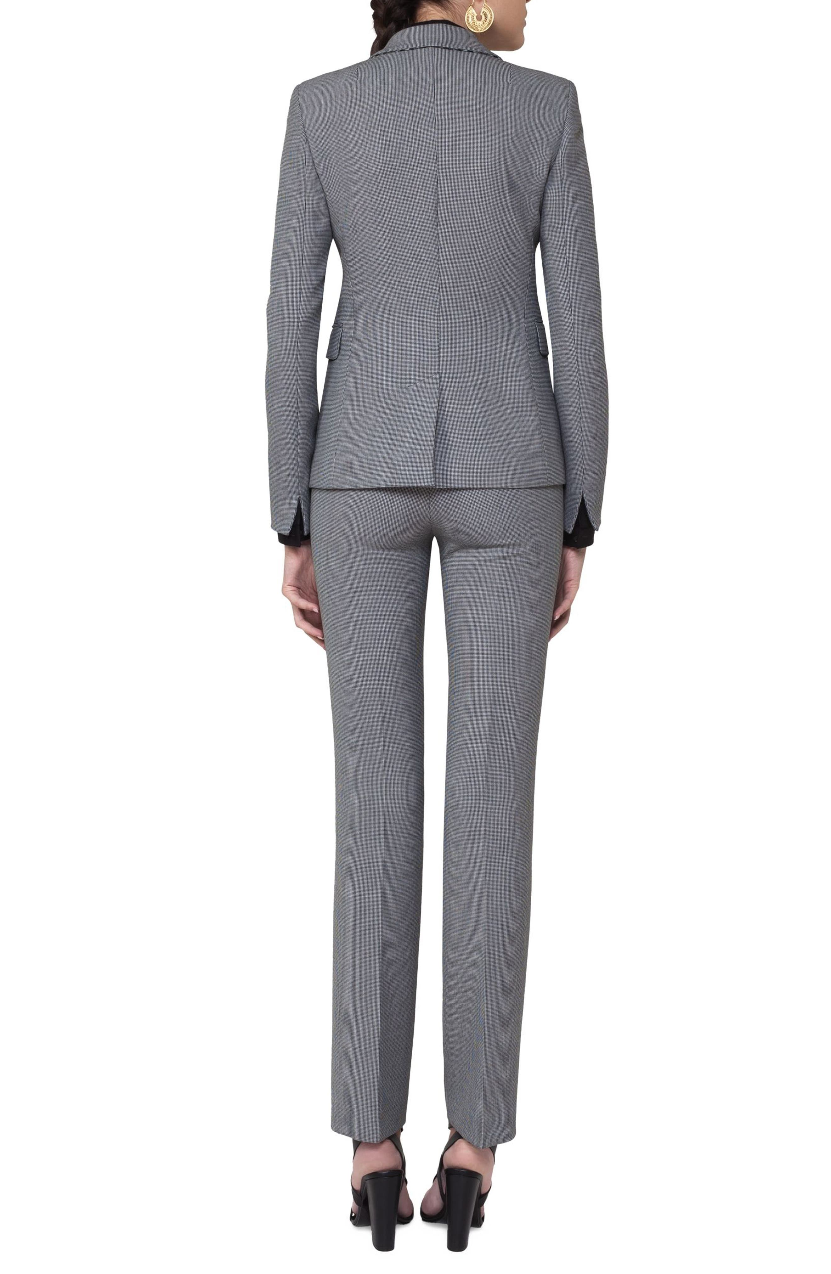 Alternate Image 2  - Akris punto Mini Houndstooth Jersey Blazer