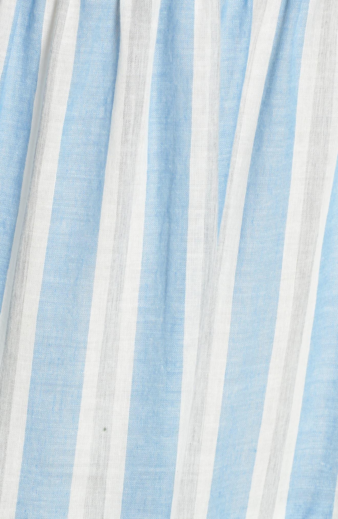 Alternate Image 5  - Maggy London Stripe Shift Dress (Regular & Petite)