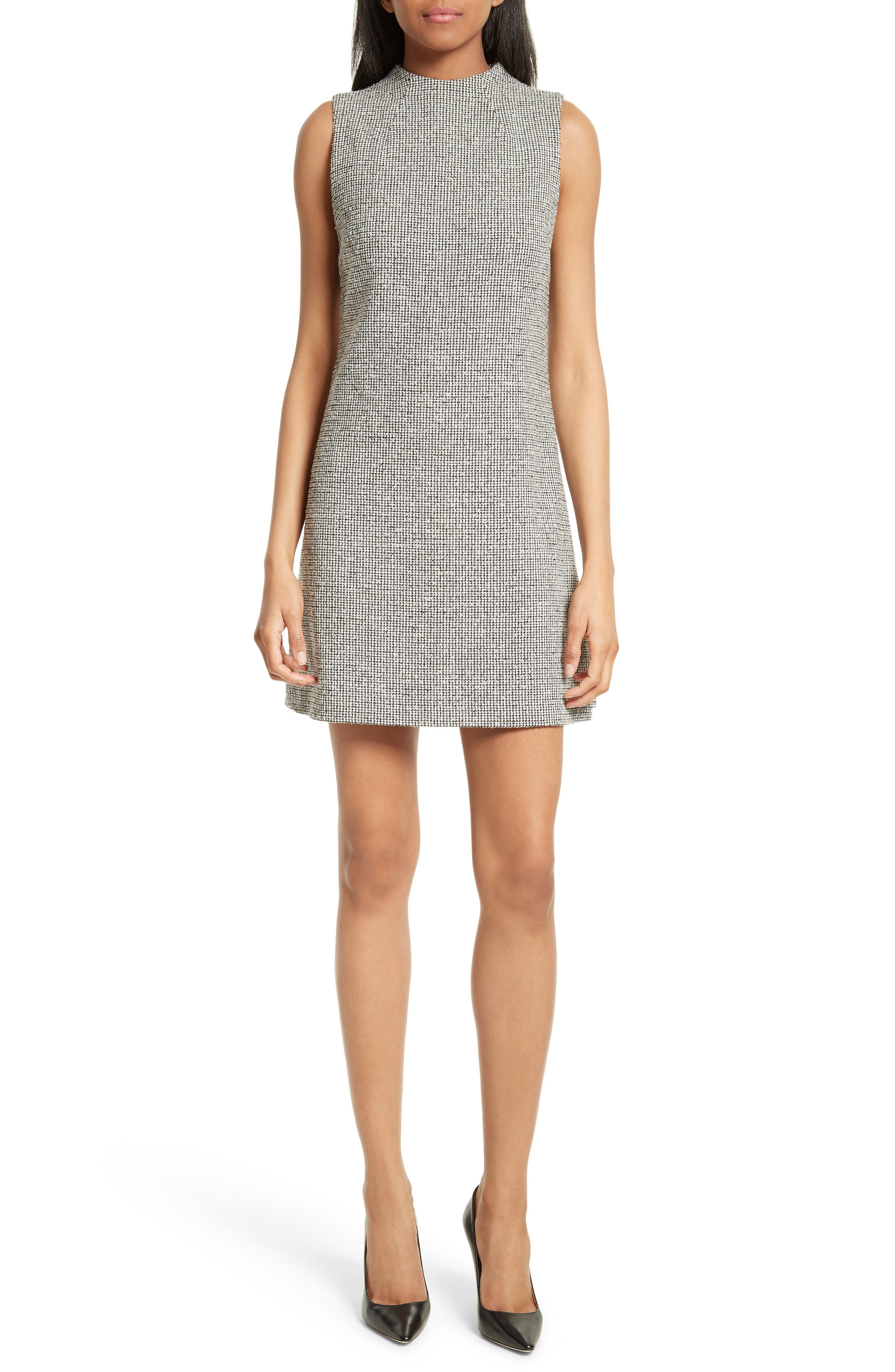Alice + Olivia Coley Mock Neck Dress