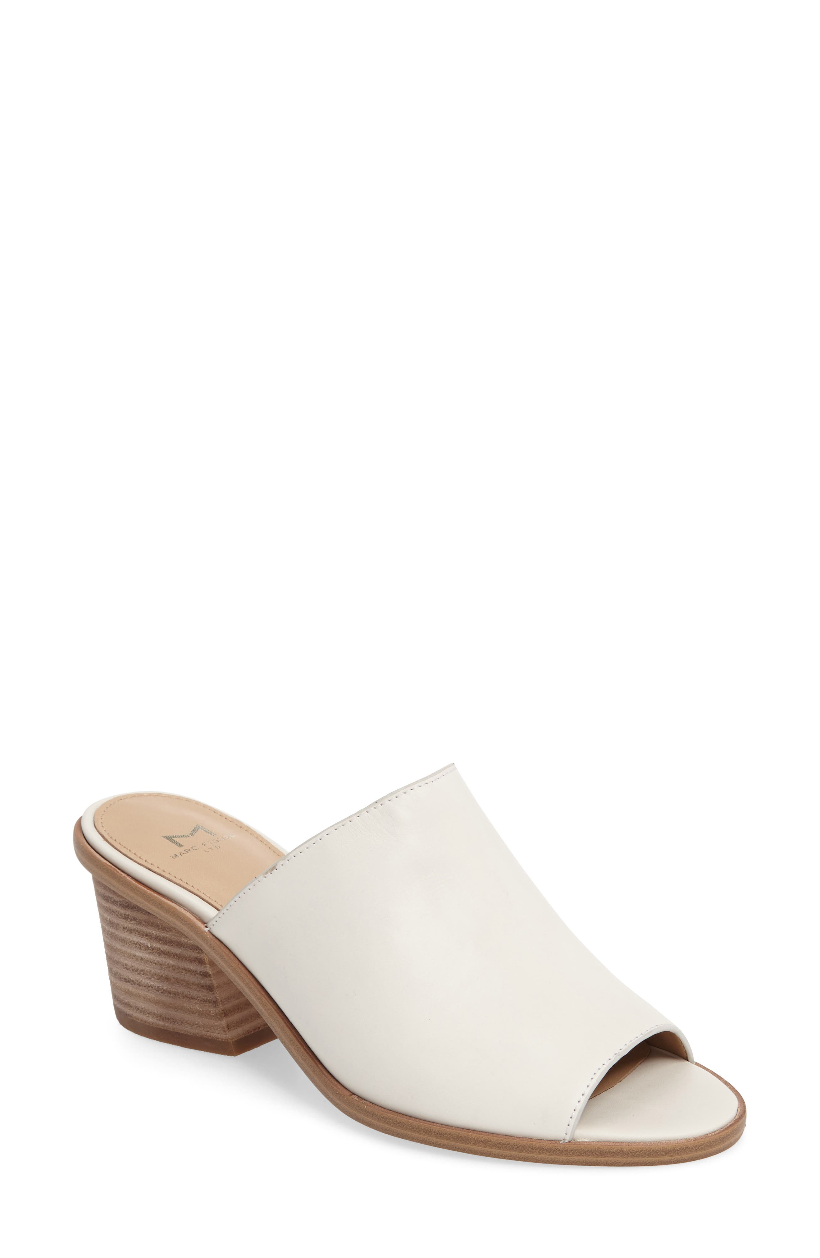 Main Image - Marc Fisher LTD Milan Block Heel Mule (Women)