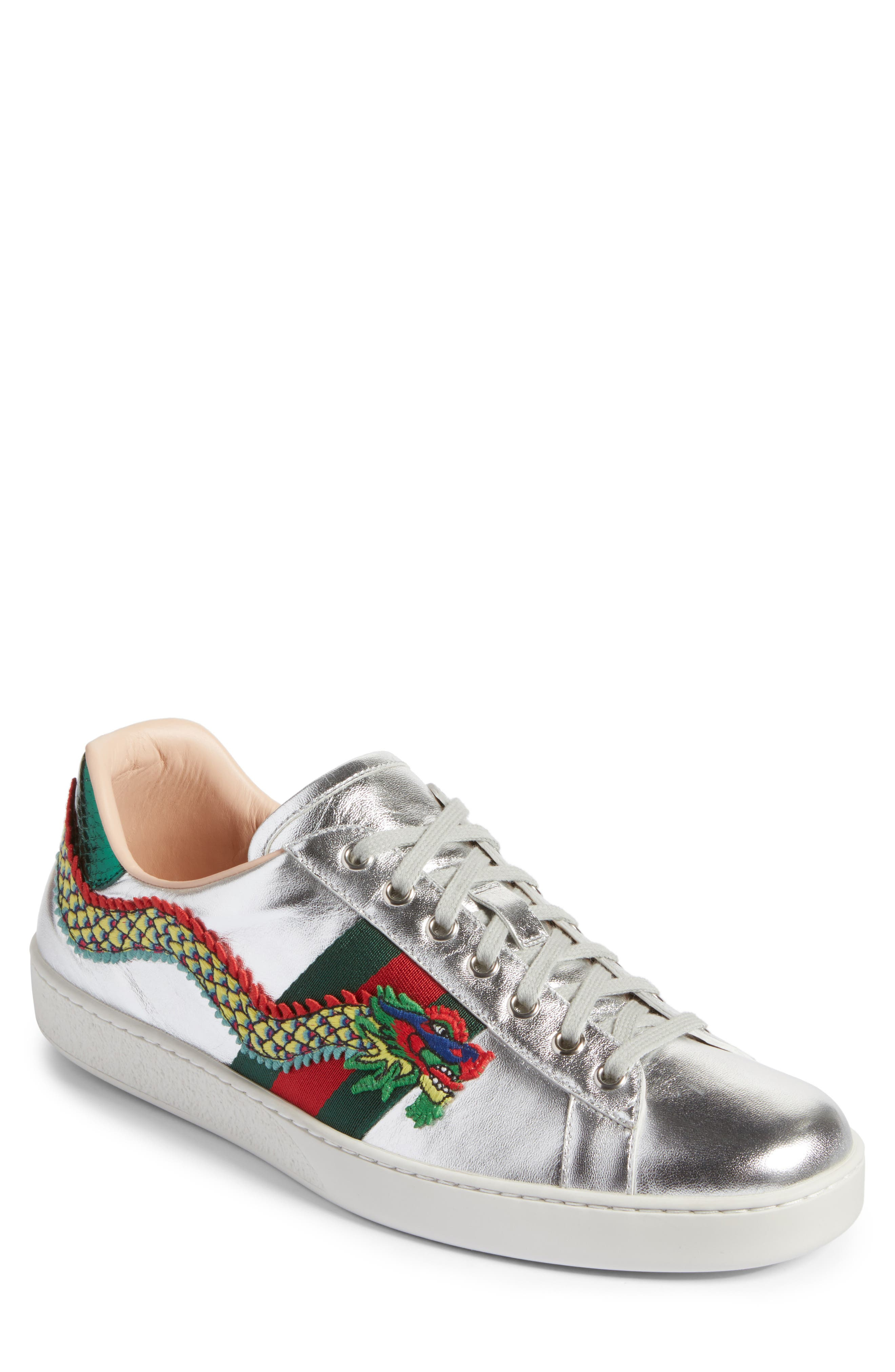Gucci New Ace Dragon Sneaker (Men)