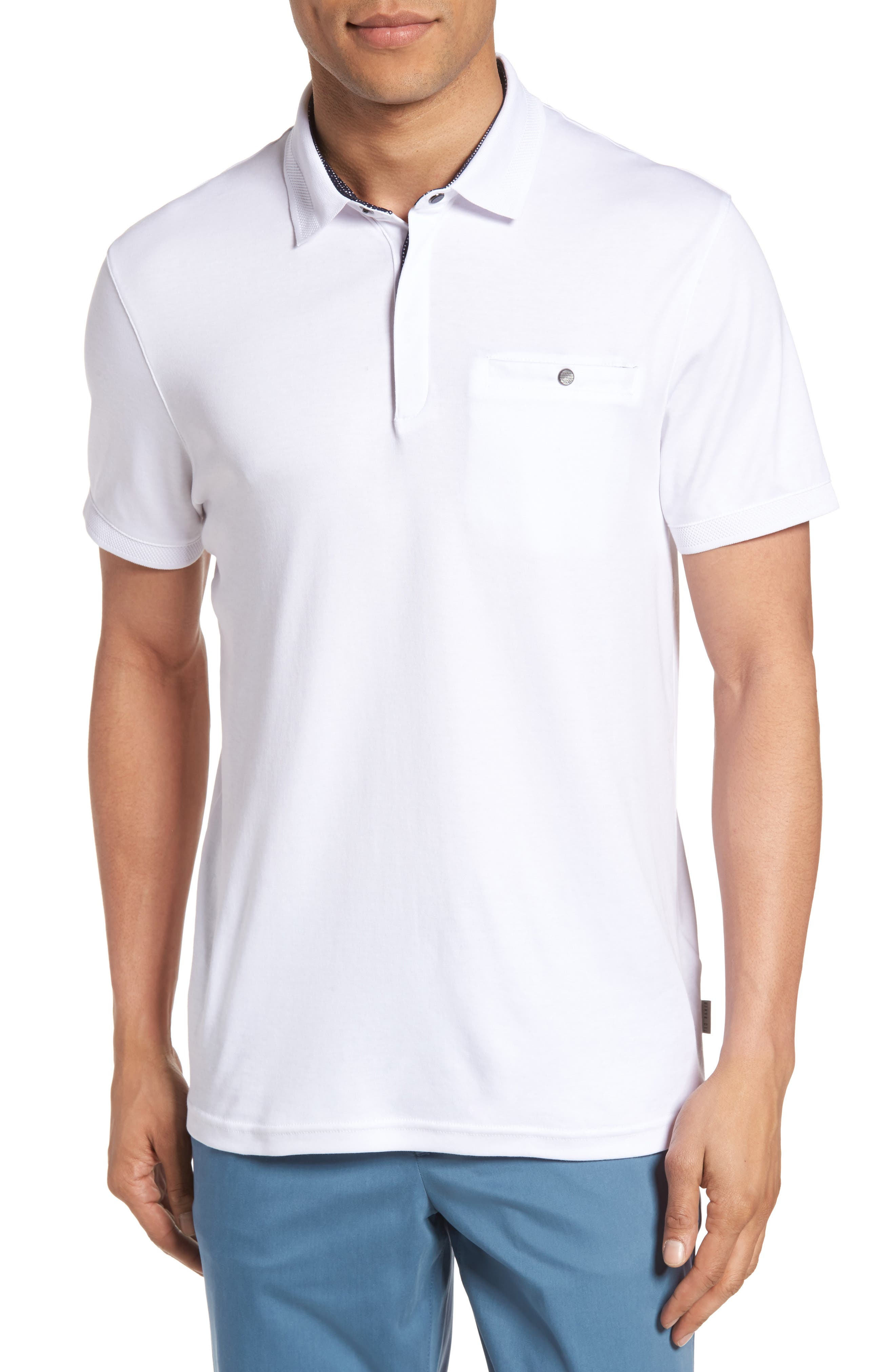 Ted Baker London Charmen Jersey Polo