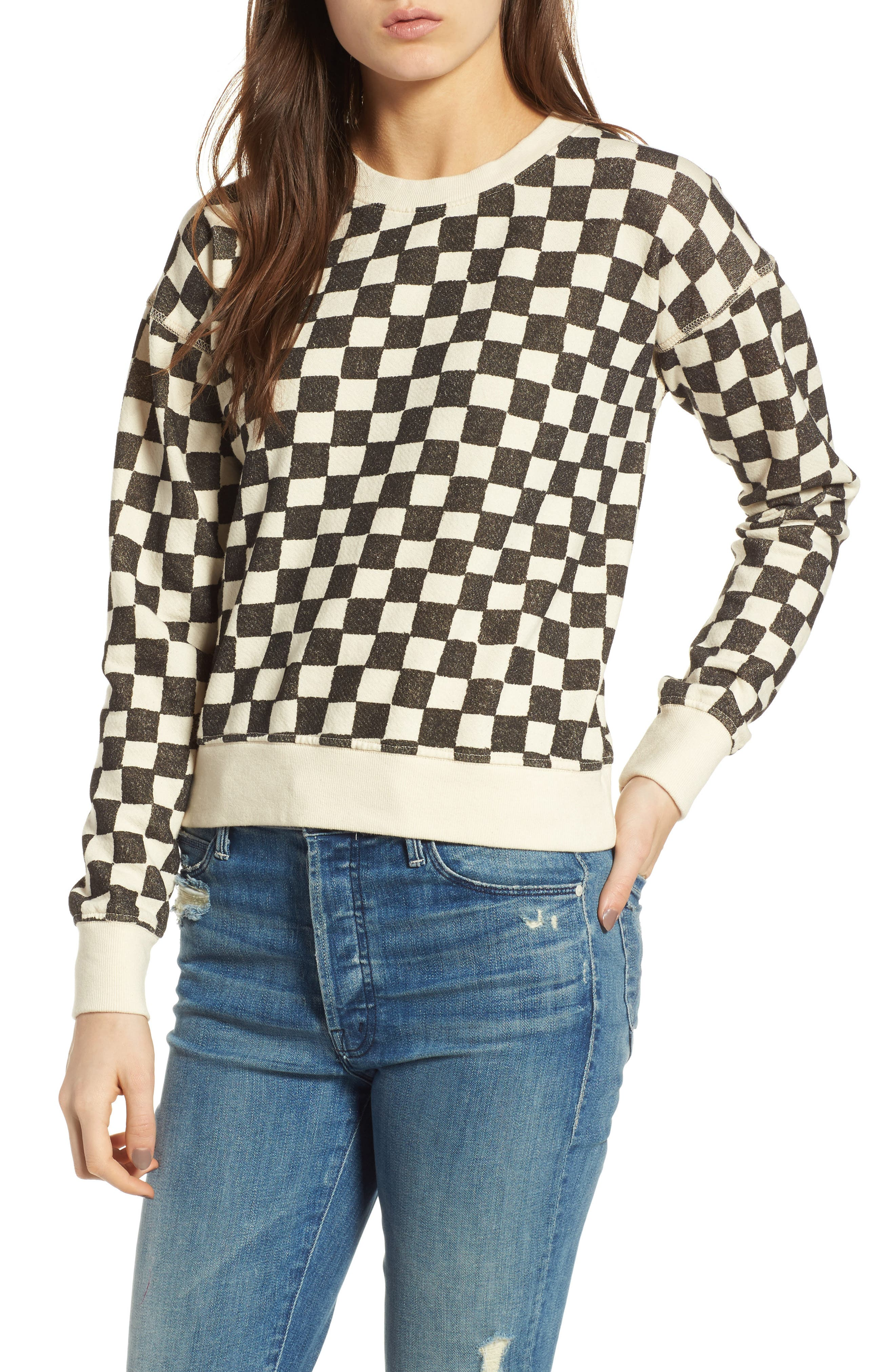 Alternate Image 1 Selected - MOTHER The Shrunken Sweater