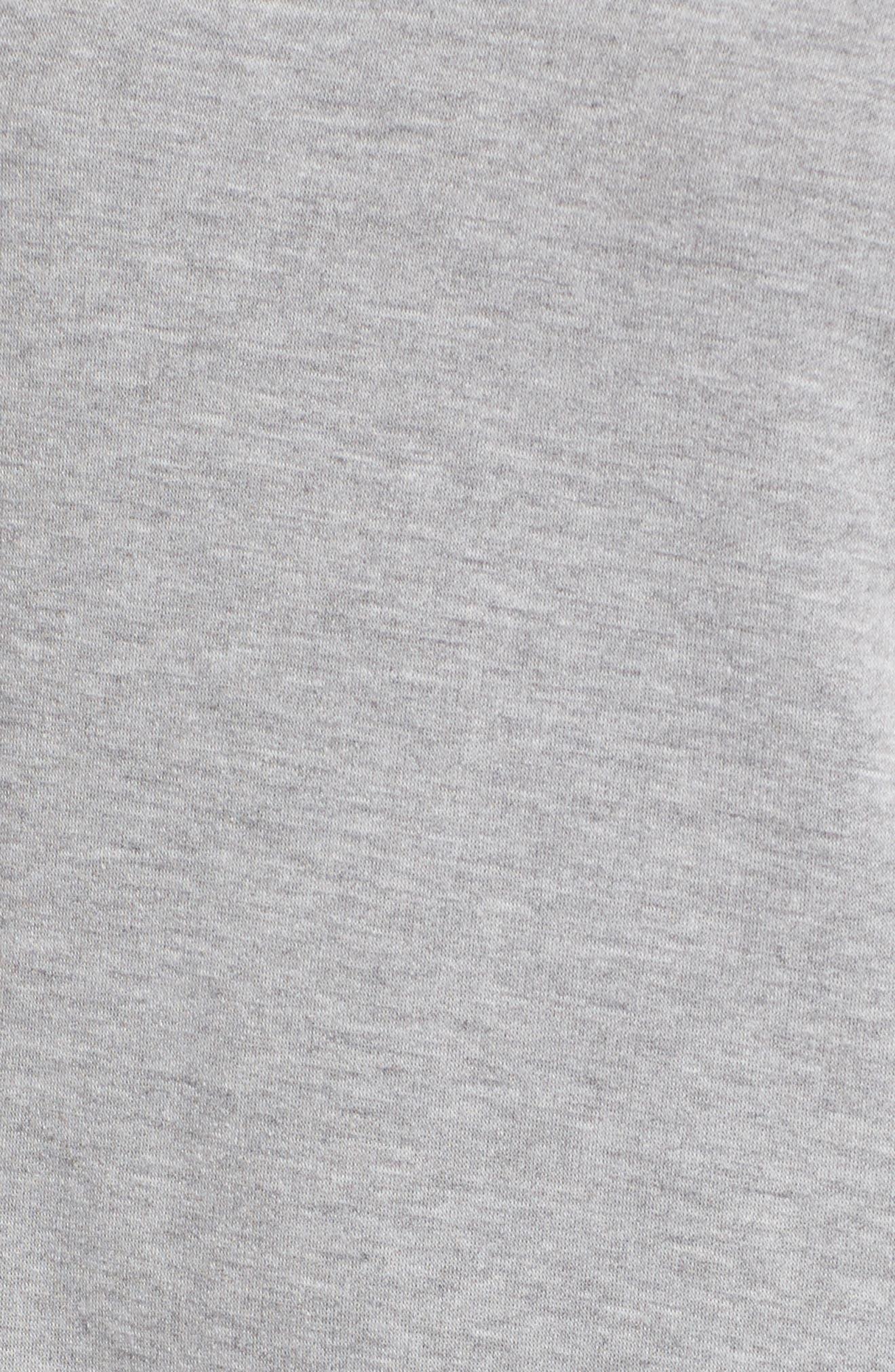 Alternate Image 5  - Lush Ruffle Sleeve T-Shirt Dress