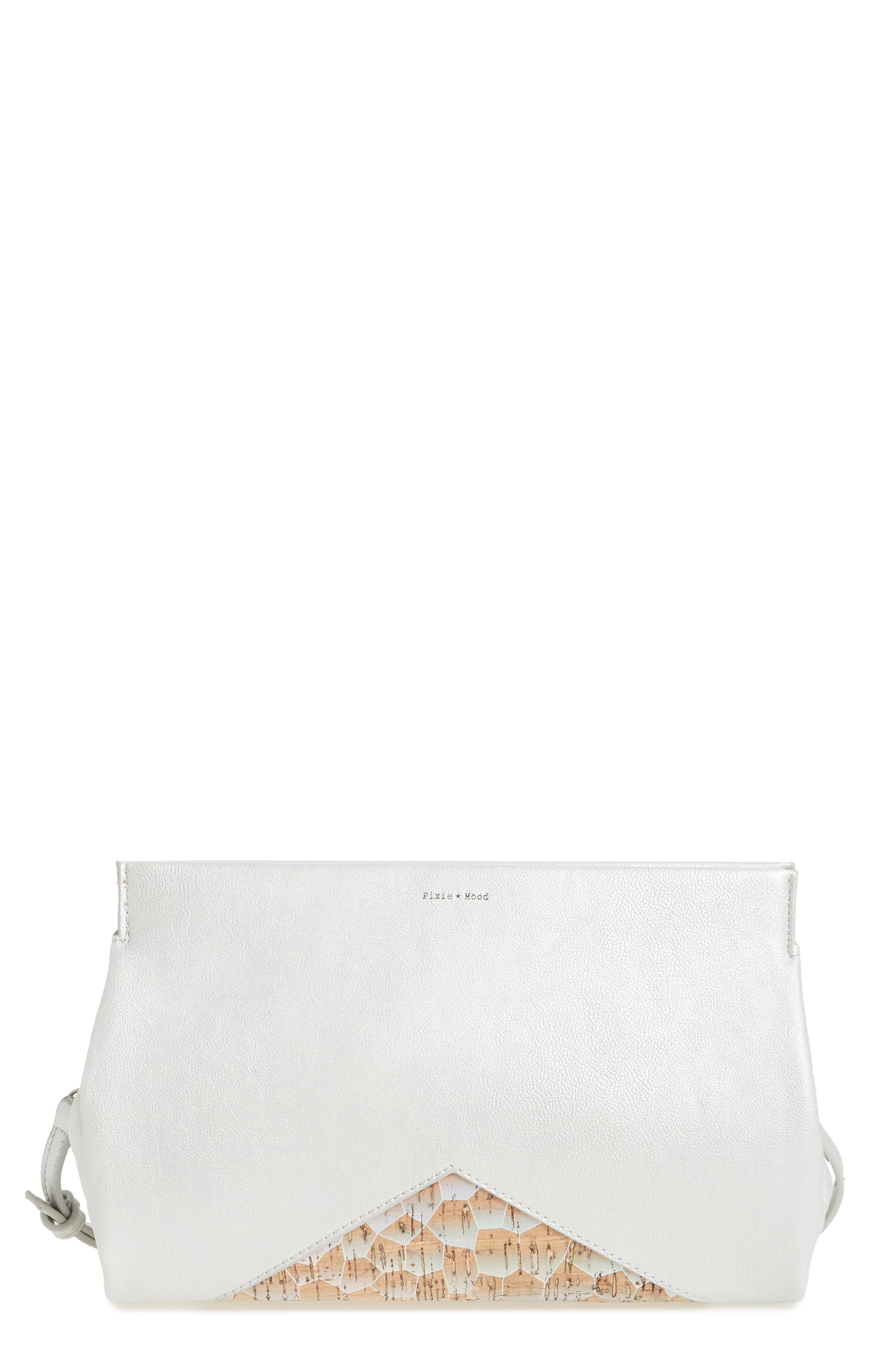 Pixie Mood Margaret Faux Leather Clutch