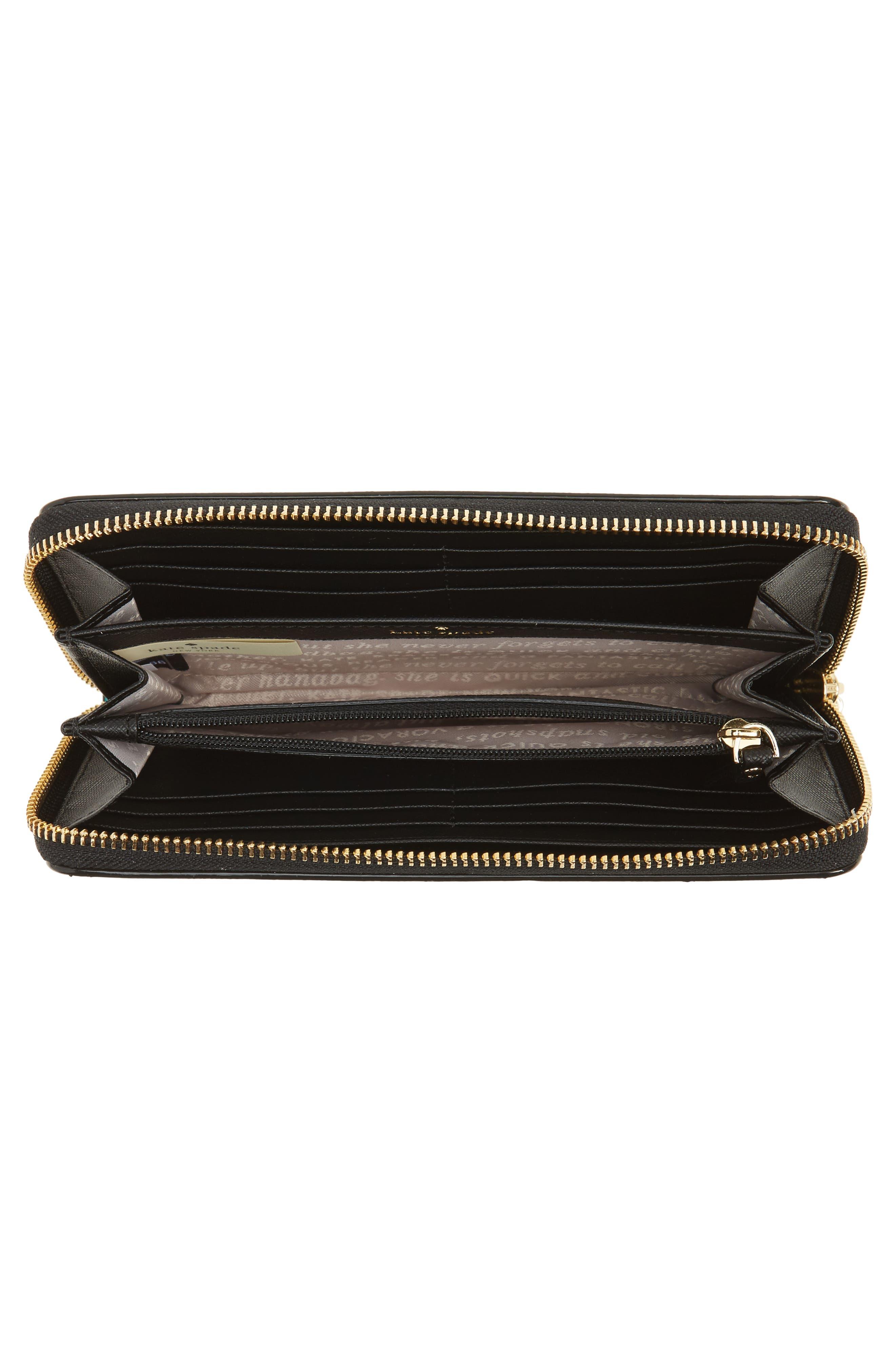 Alternate Image 3  - kate spade new york cameron street jardin lacey leather wallet