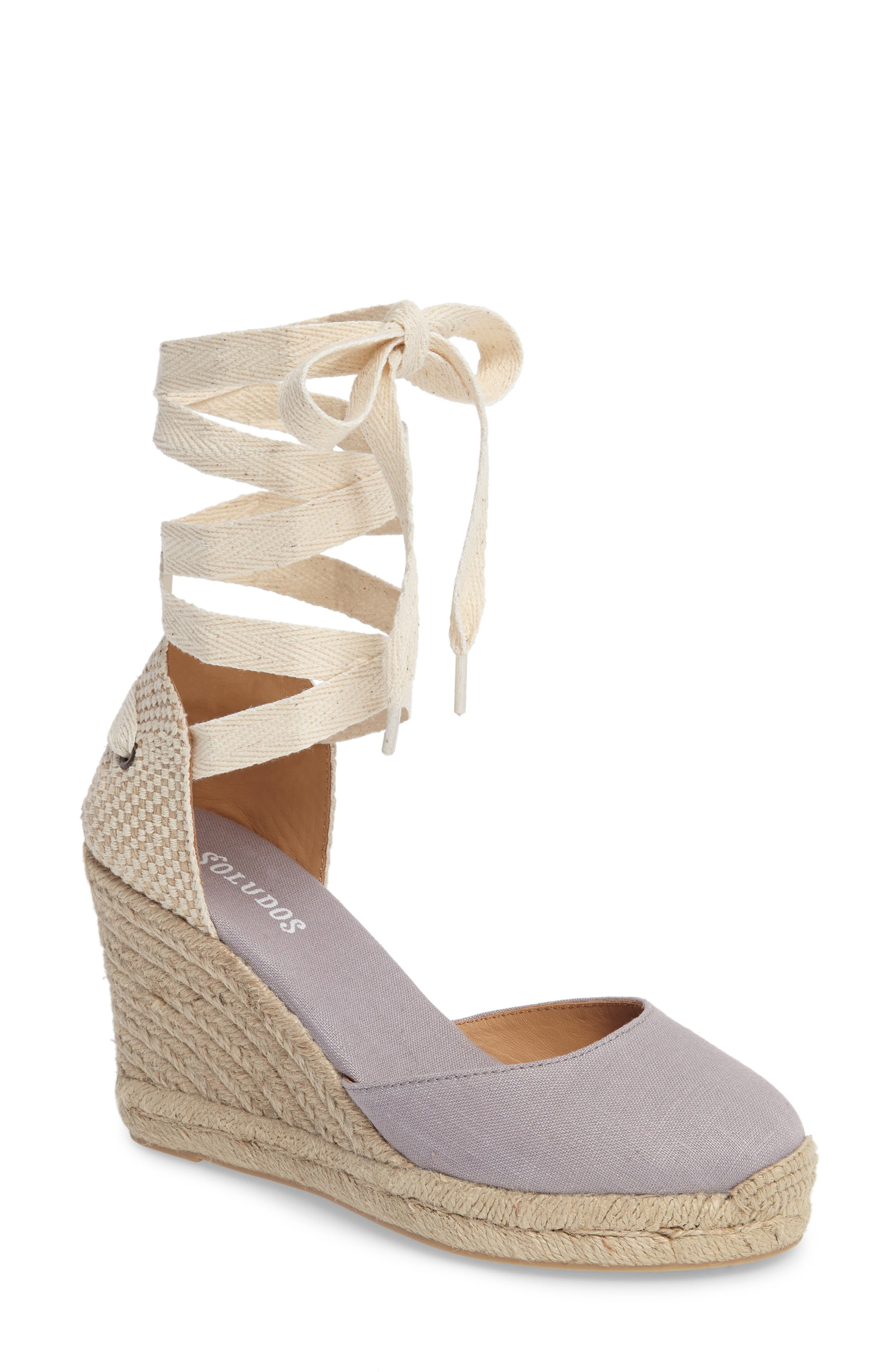 Alternate Image 1 Selected - Soludos Tall Wedge Espadrille (Women)