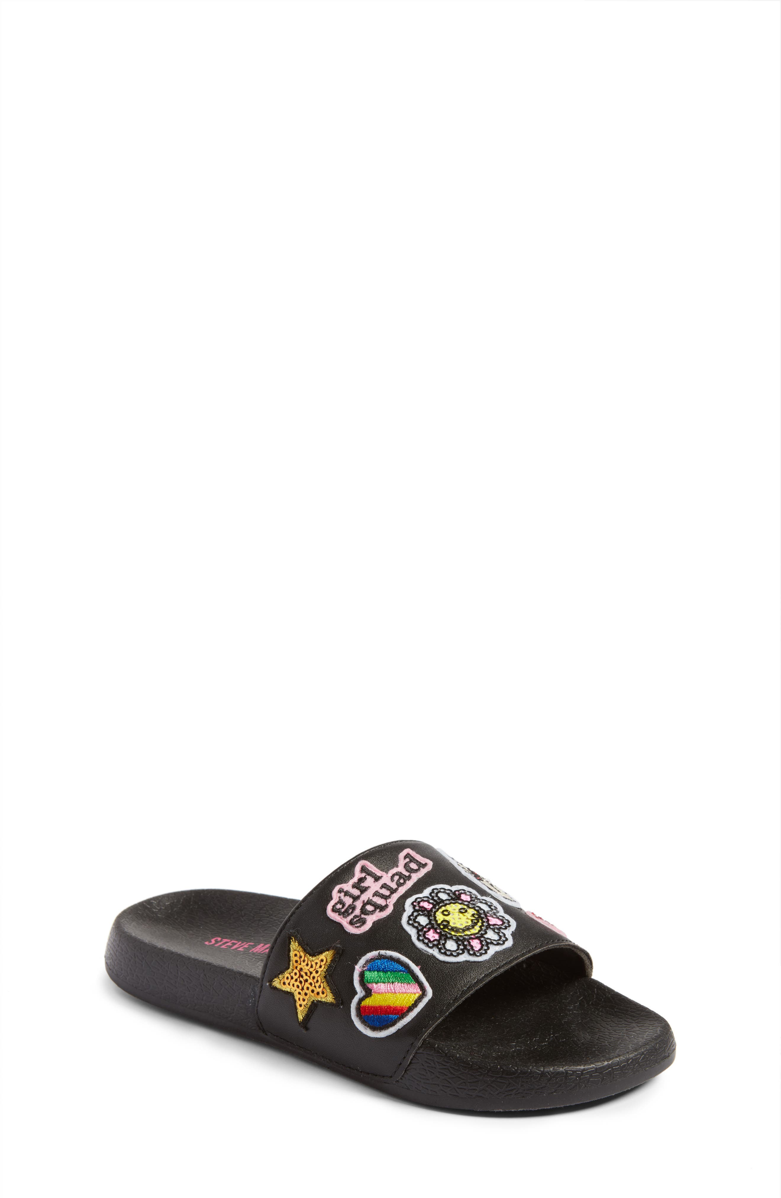 Steve Madden Grlsquad Slide Sandal (Little Kid & Big Kid)