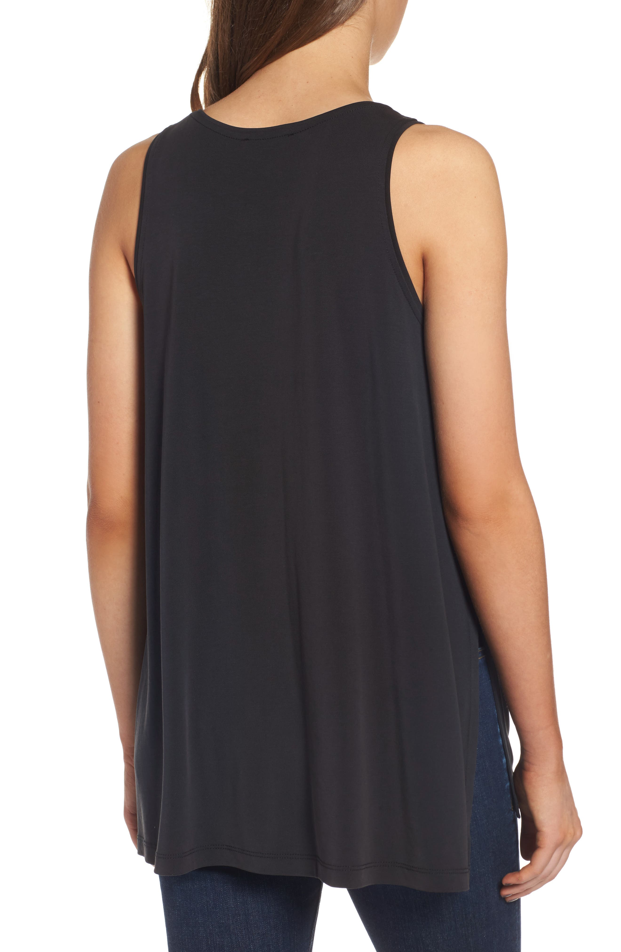 Alternate Image 2  - Lush Side Slit Tank