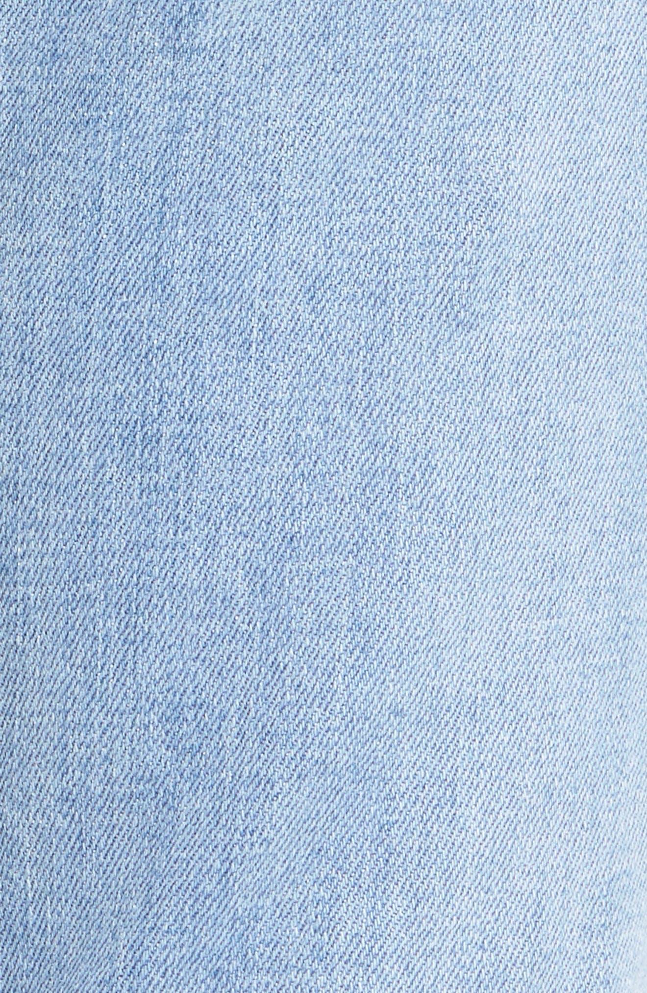 Alternate Image 6  - 7 For All Mankind® Roxanne Original Ankle Skinny Jeans (Bright Chelsea)