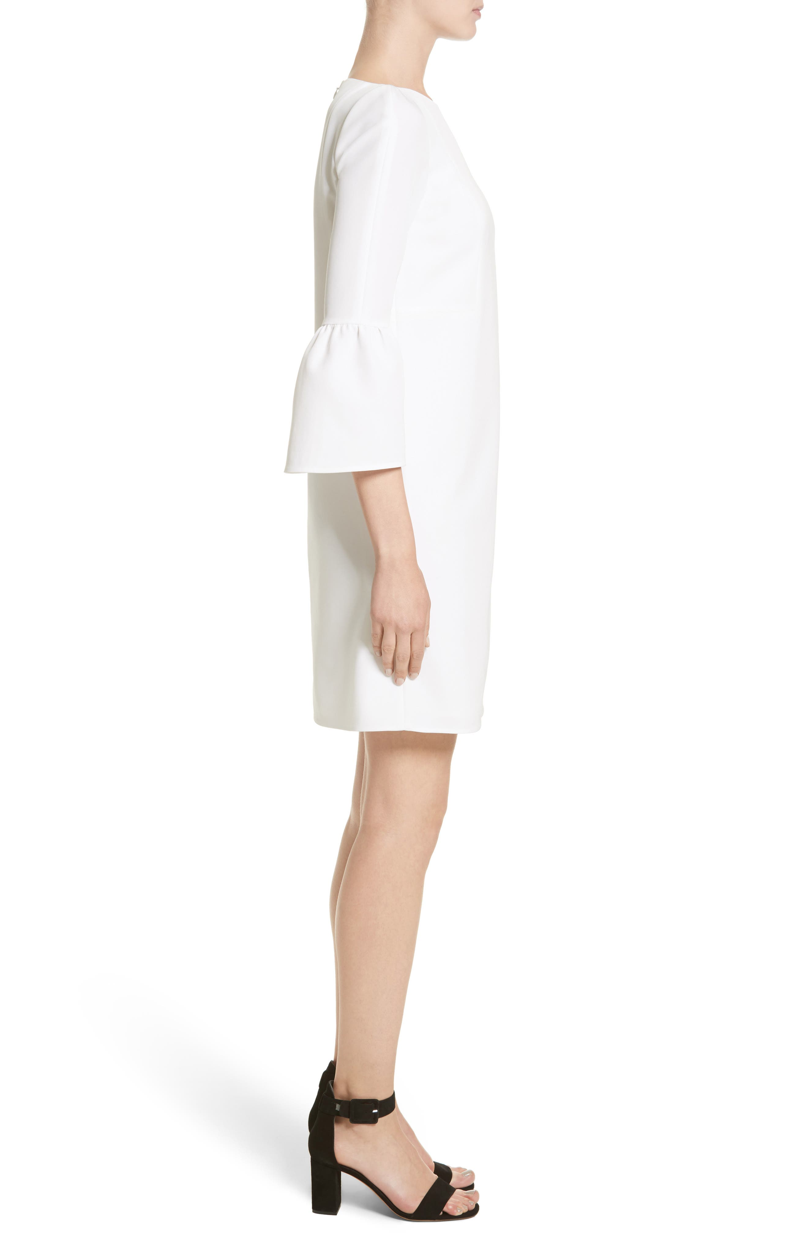 Alternate Image 5  - Lafayette 148 New York Marisa Flounce Cuff Shift Dress (Nordstrom Exclusive)