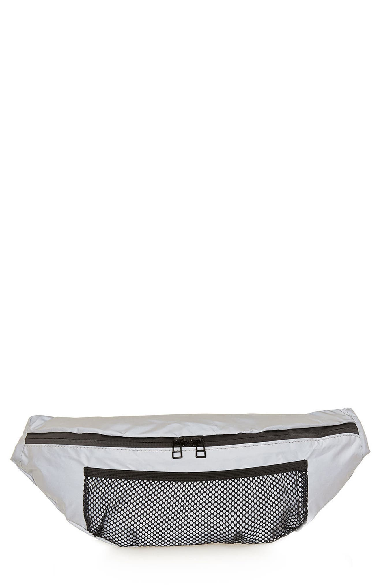 Topman Reflective Hip Pack