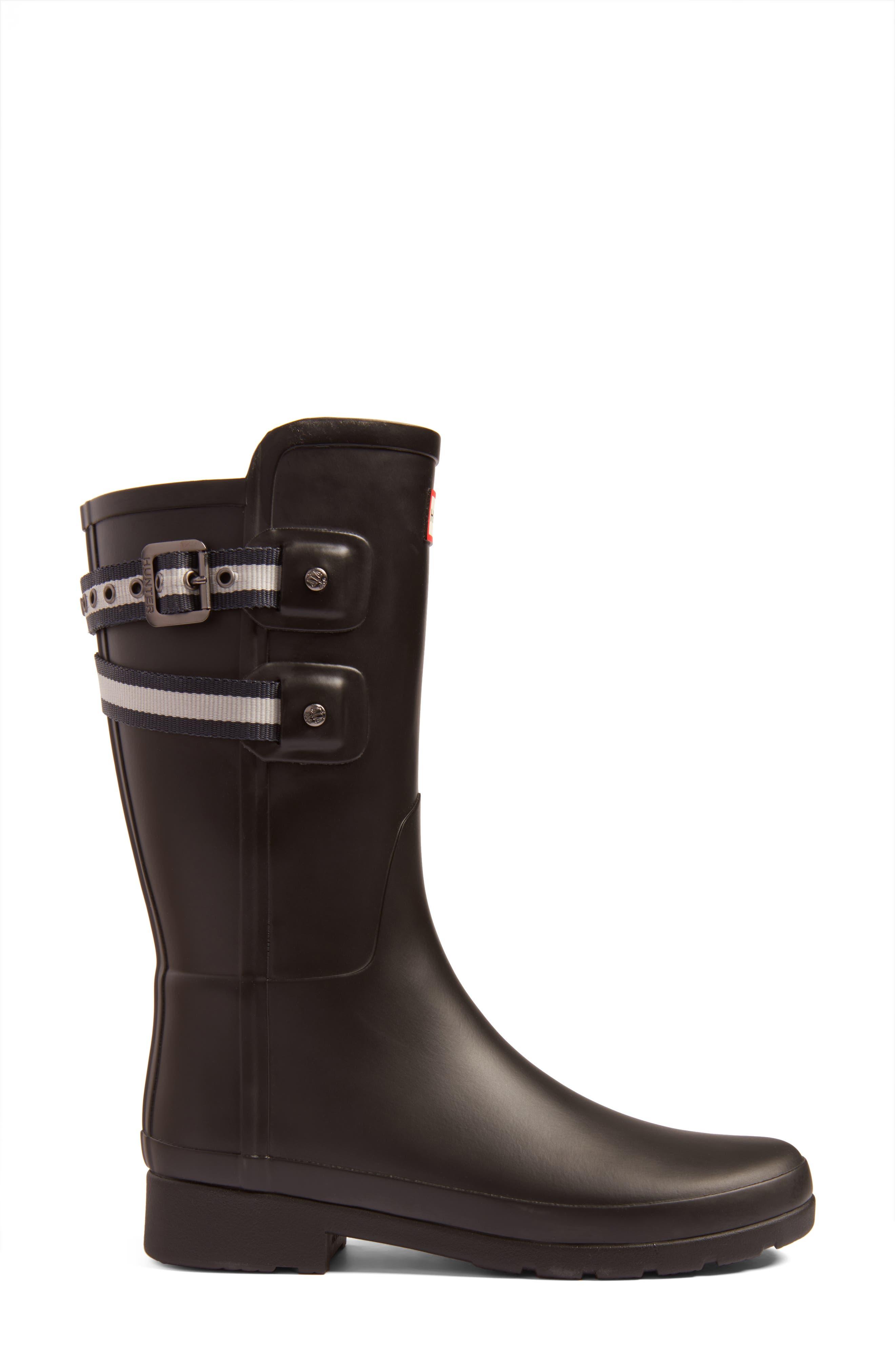 Alternate Image 3  - Hunter Original Refined Short Rain Boot (Women)