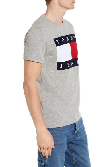 tommy hilfiger 39 90s flat t shirt grey marl modesens. Black Bedroom Furniture Sets. Home Design Ideas