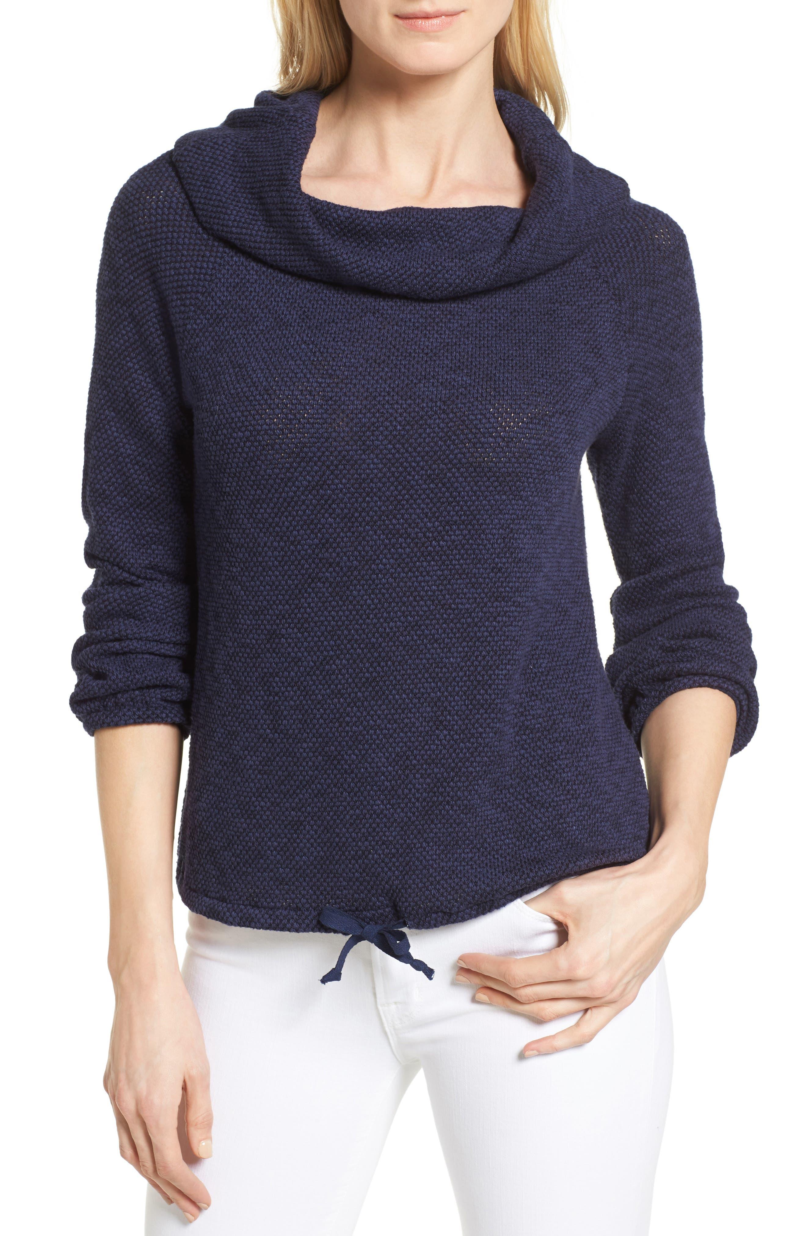 Alternate Image 1 Selected - Caslon® Convertible Off the Shoulder Pullover (Regular & Petite)