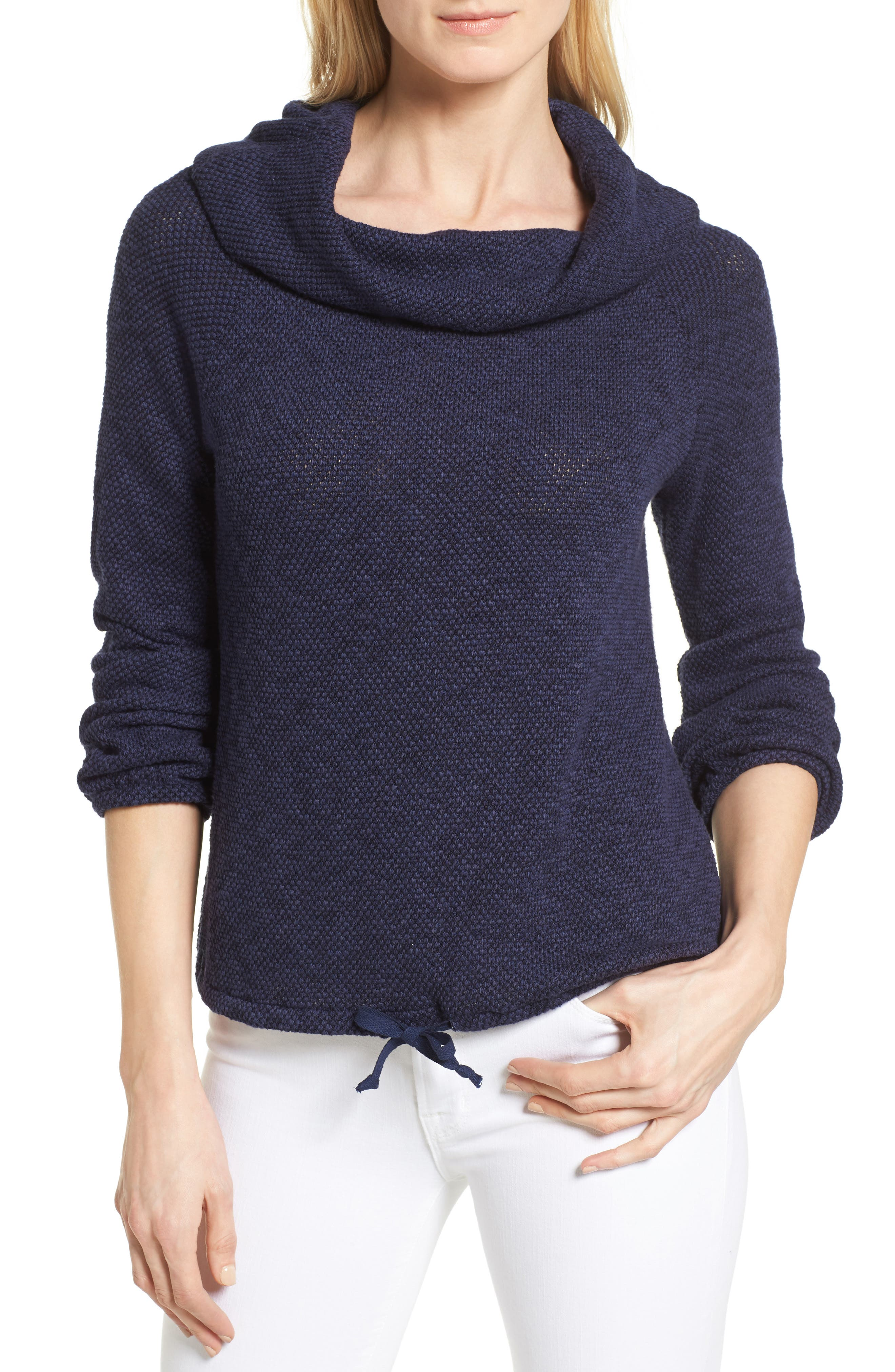 Caslon® Convertible Off the Shoulder Pullover (Regular & Petite)