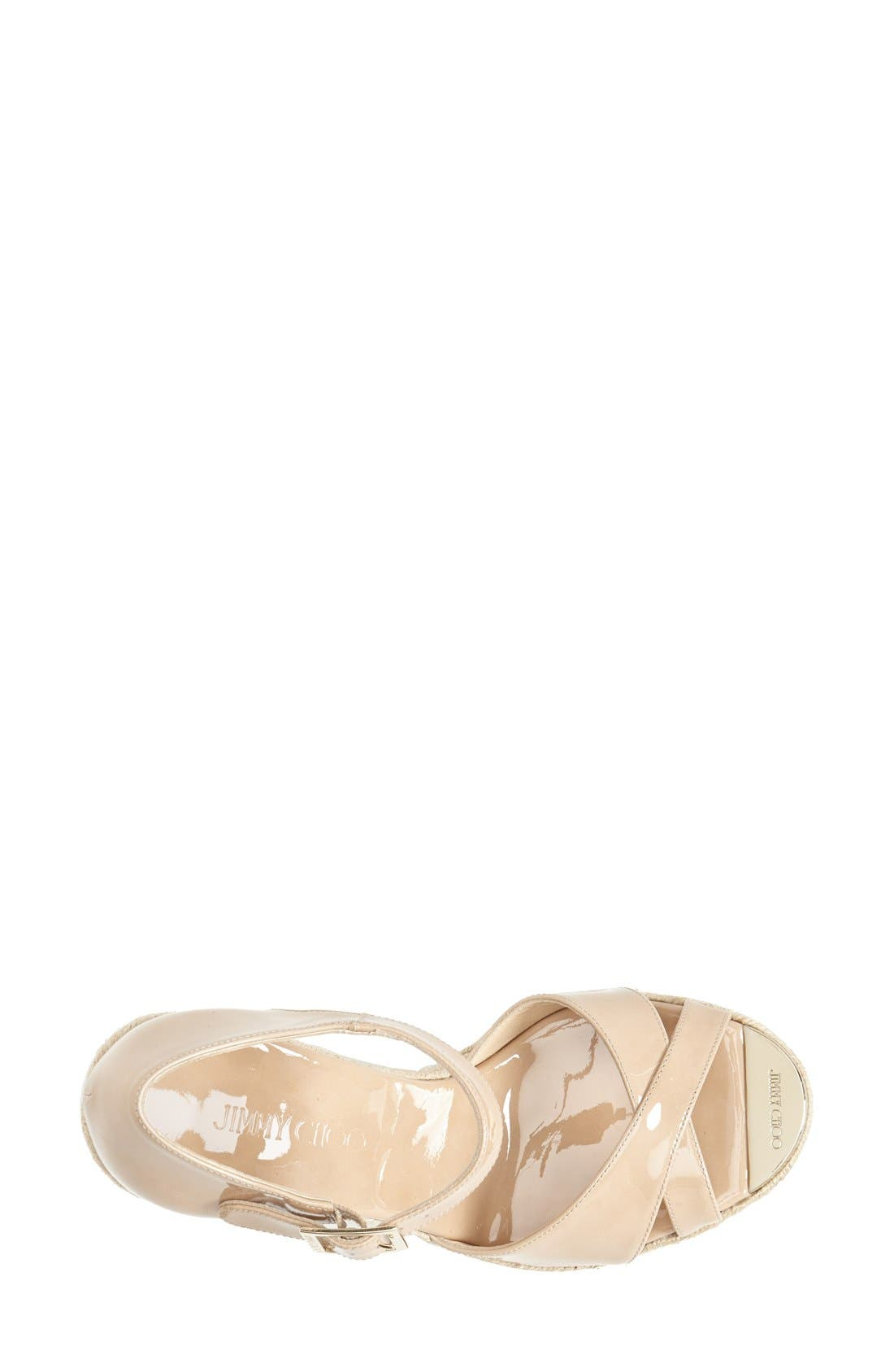 Alternate Image 3  - Jimmy Choo 'Pallis' Wedge Sandal (Nordstrom Exclusive)