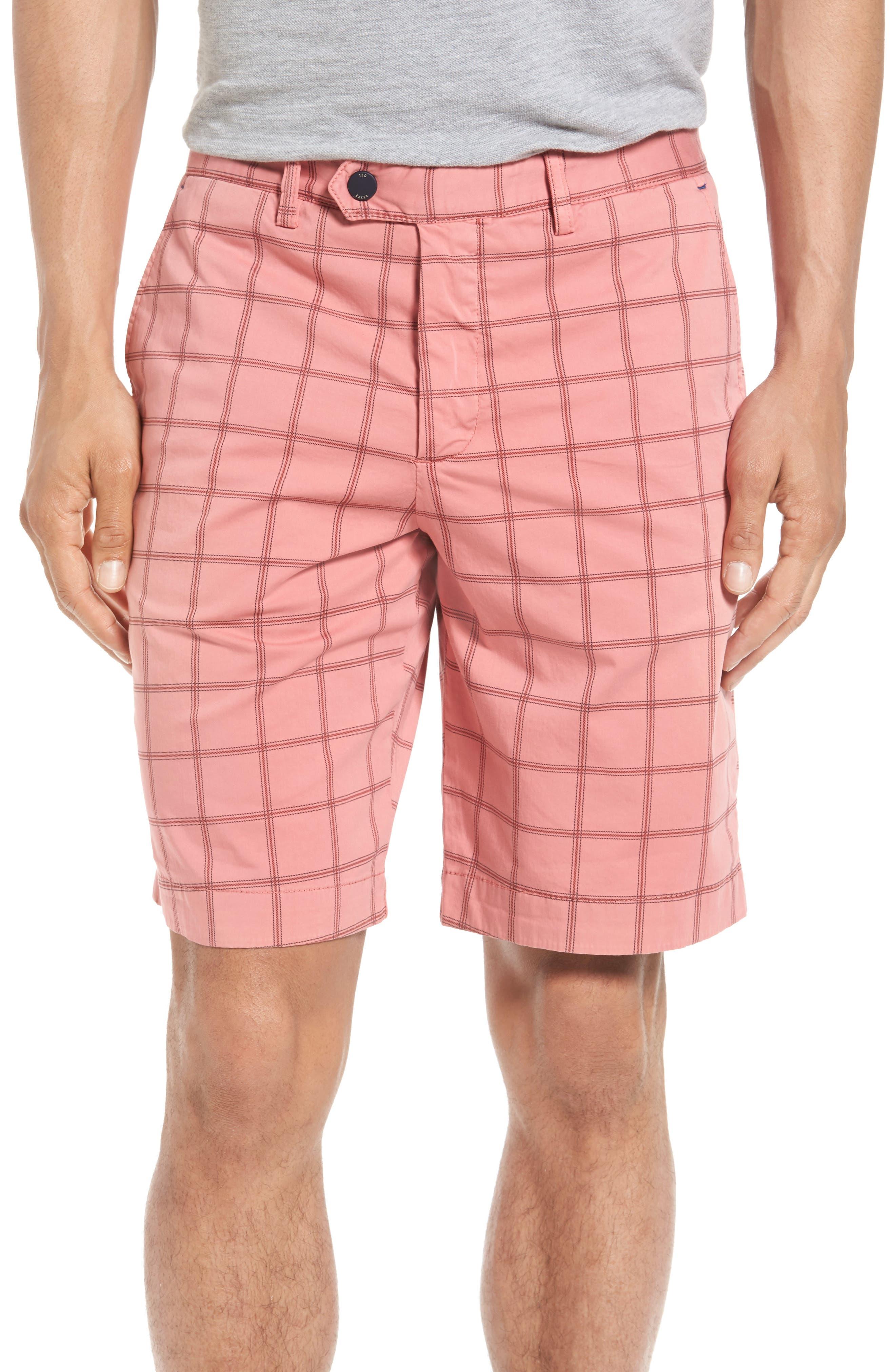 Ted Baker London Golfshr Print Golf Shorts