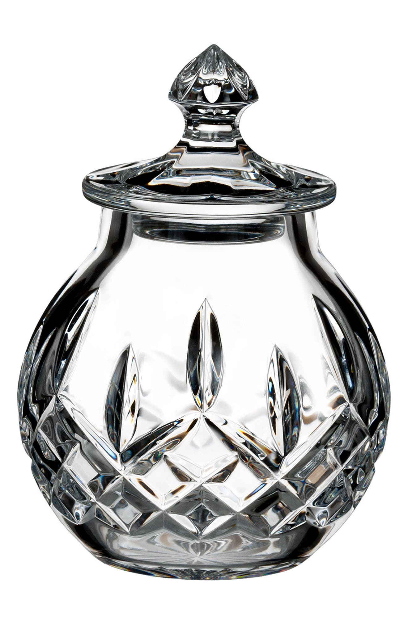 Waterford Lismore Small Lead Crystal Jar