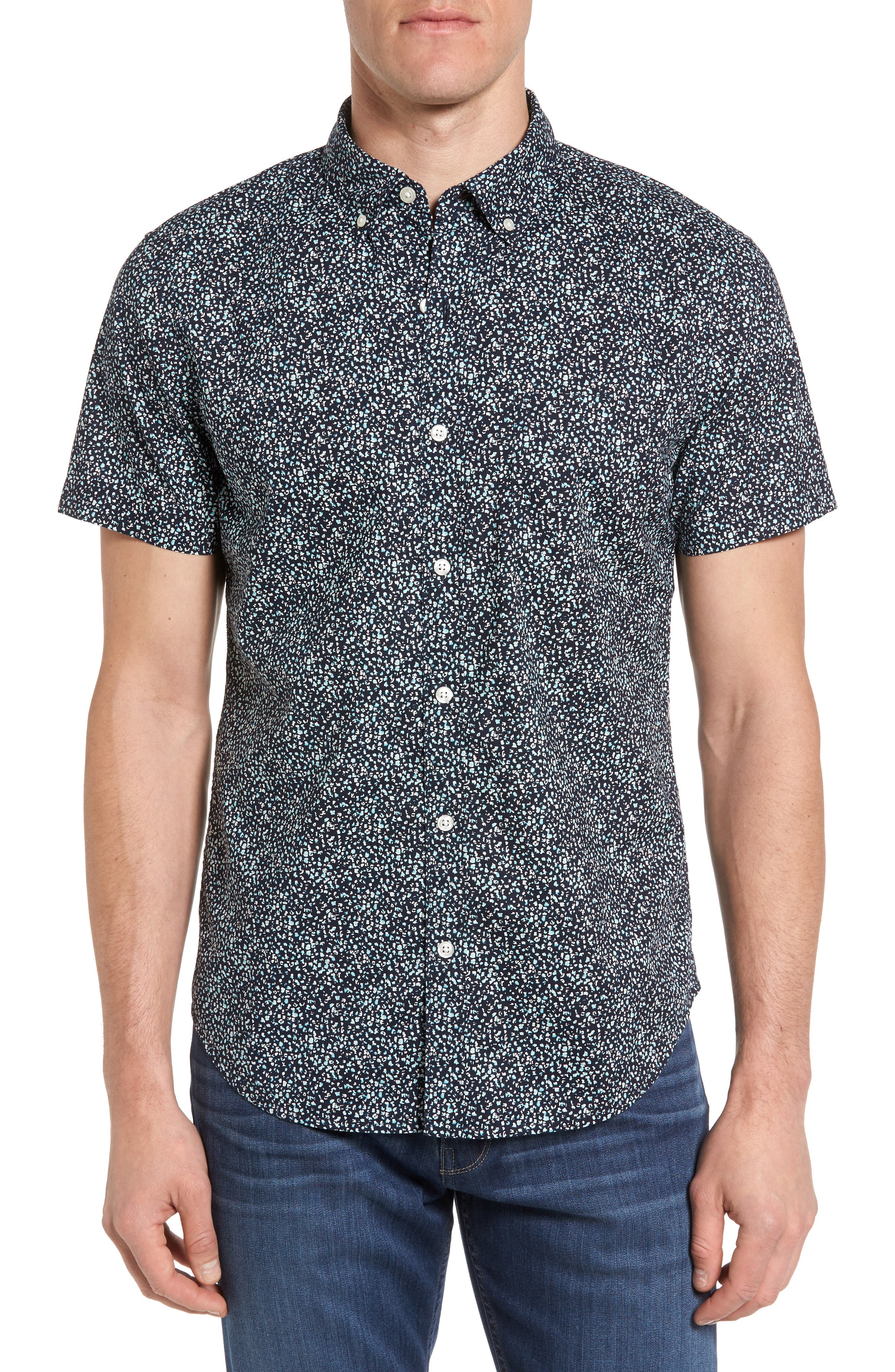 Bonobos Slim Fit Short Sleeve Sport Shirt