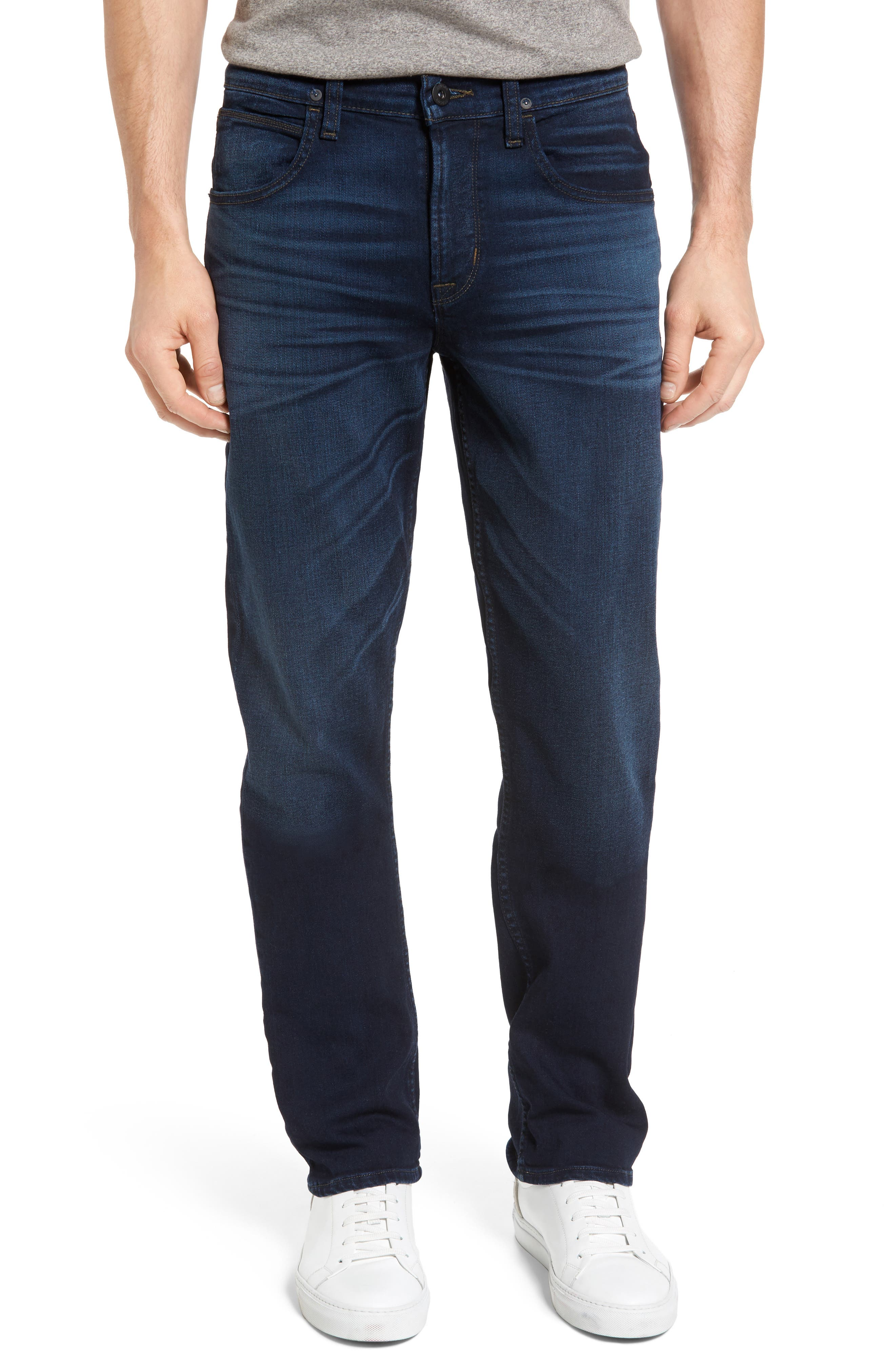 Hudson Jeans Byron Slim Straight Leg Jeans (Streetwise)