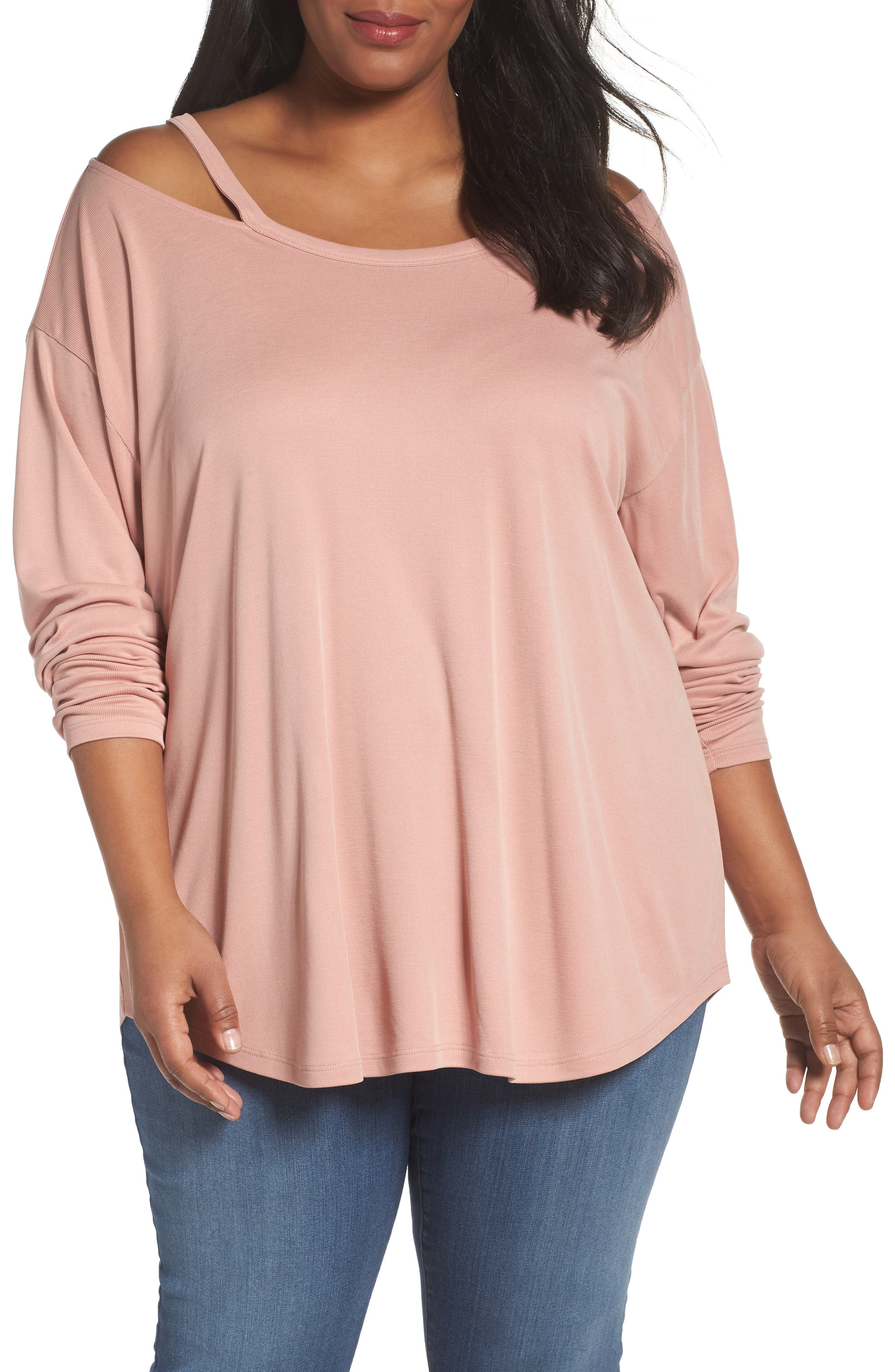 Sejour Off the Shoulder Tee (Plus Size)