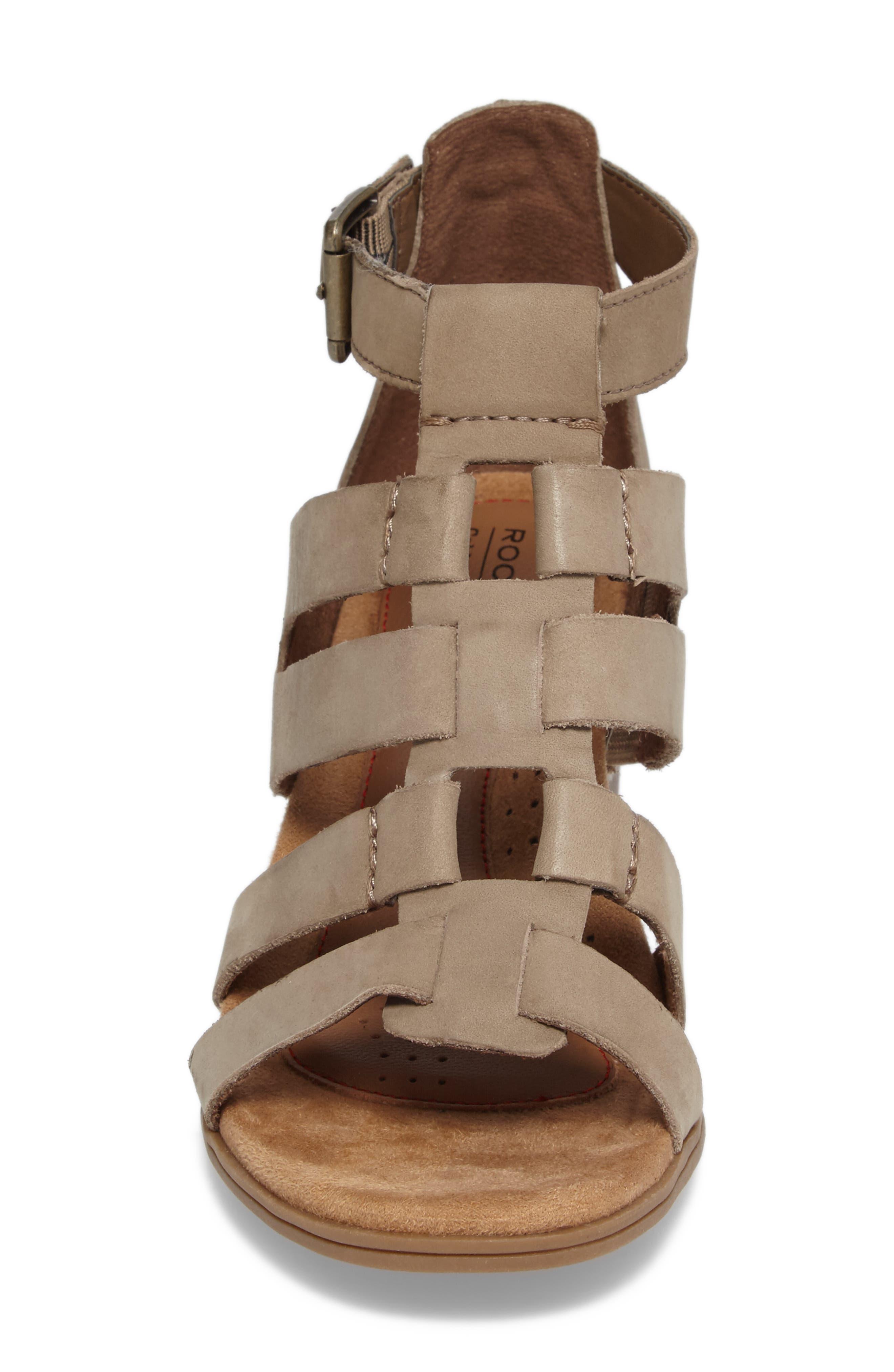Alternate Image 4  - Rockport Cobb Hill Hattie Block Heel Gladiator Sandal (Women)
