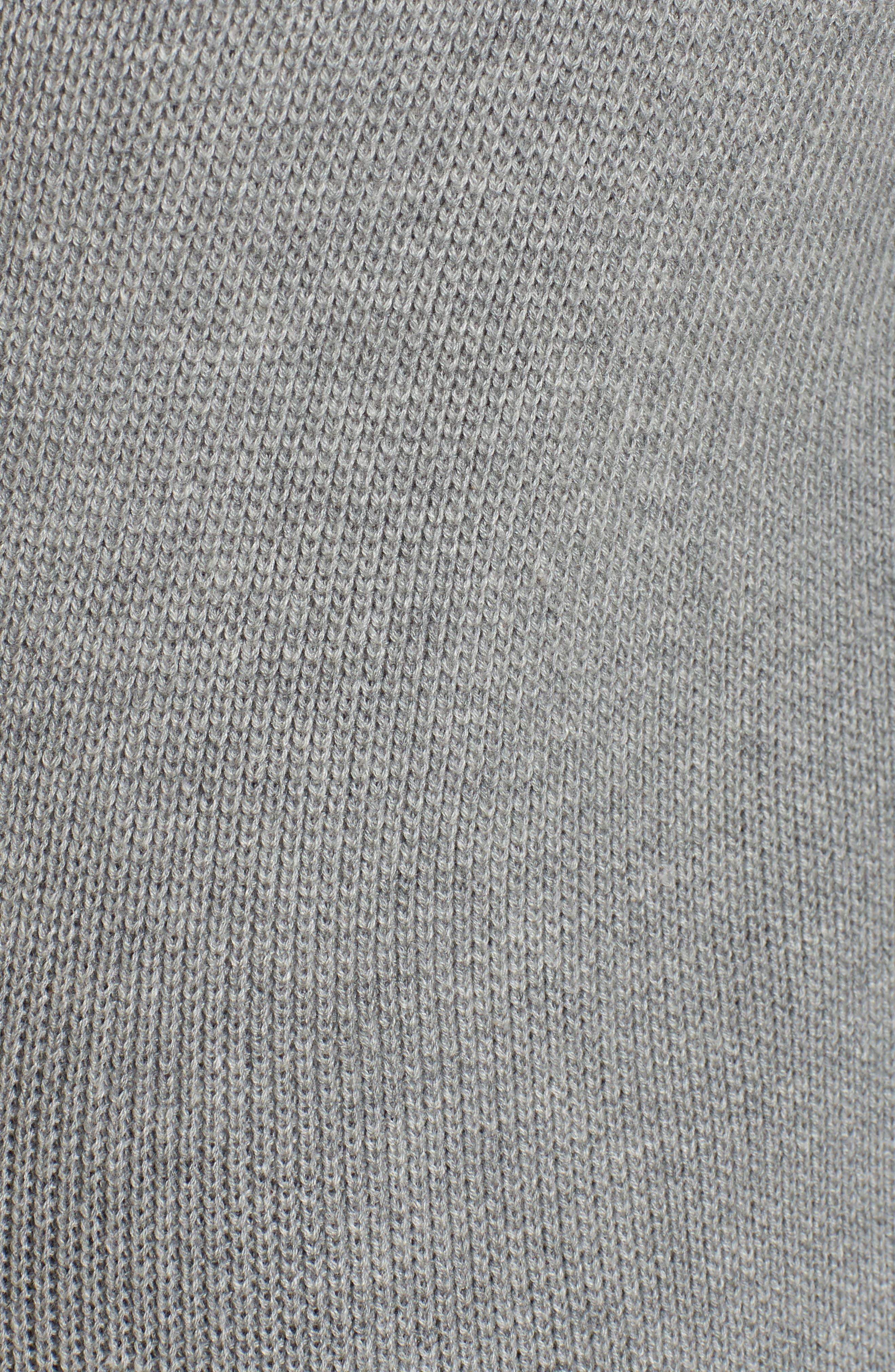 Alternate Image 6  - BP. Lightweight Rib Stitch Cardigan