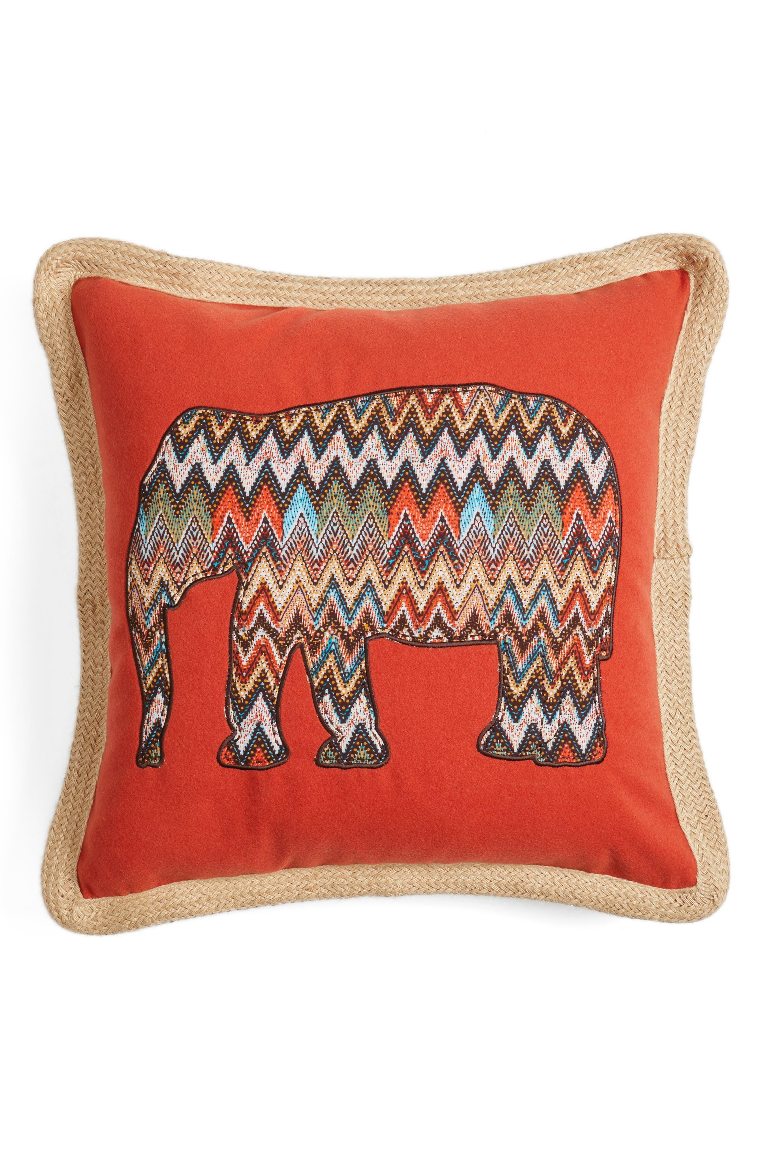 Levtex Fira Appliqué Accent Pillow