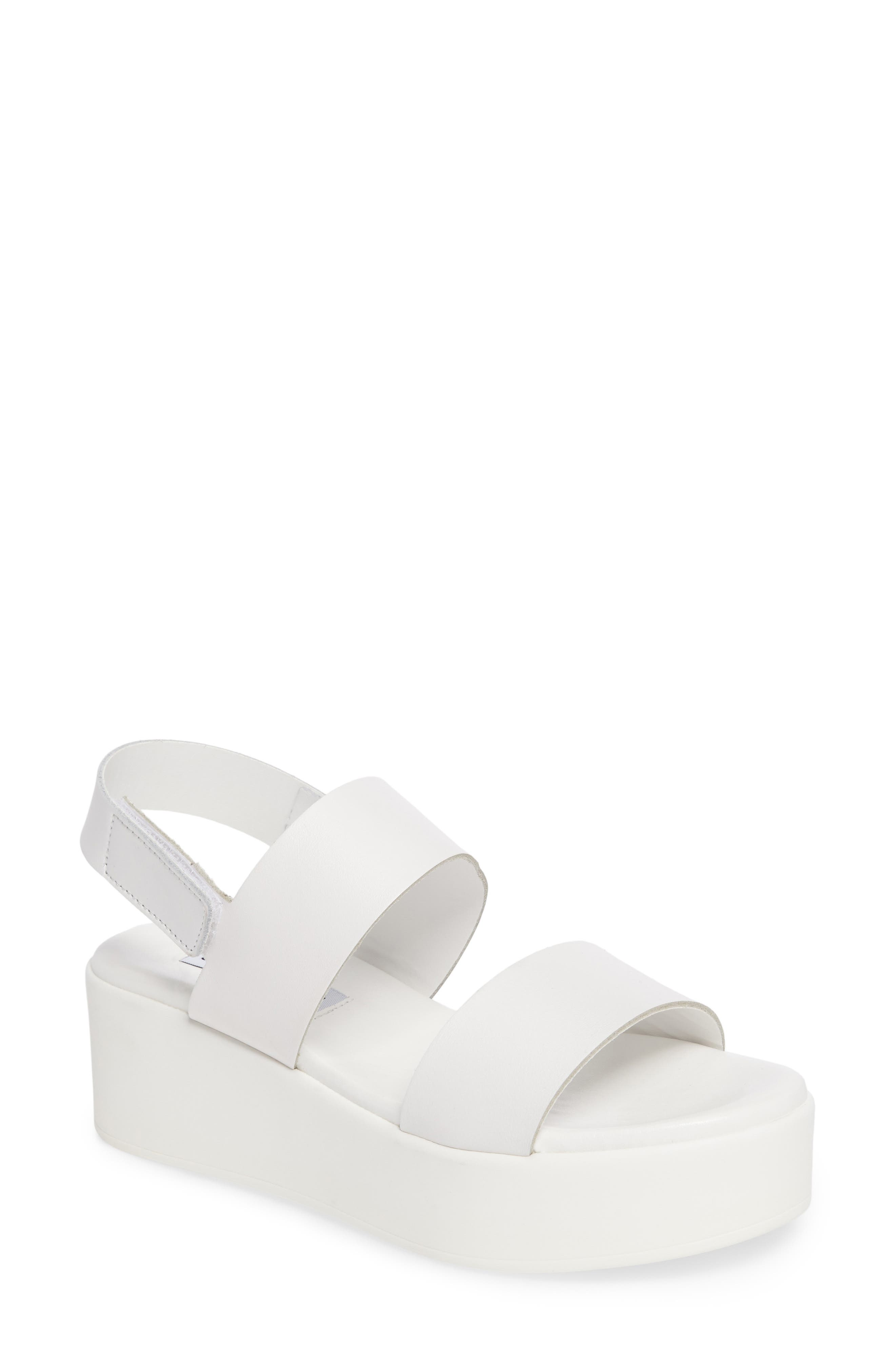 Alternate Image 1 Selected - Steve Madden Rachel Platform Wedge Sandal (Women)