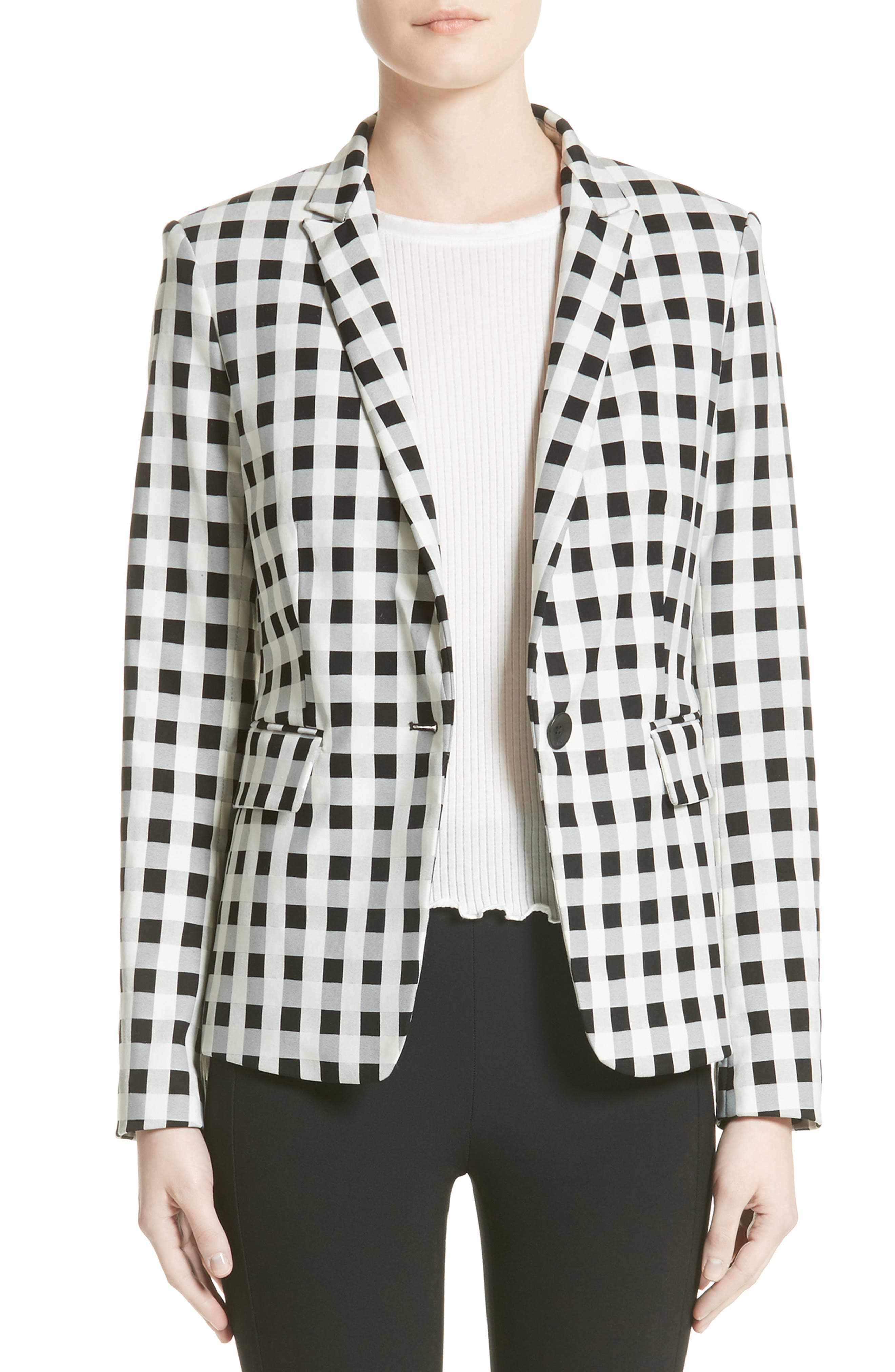 rag & bone Archer Gingham Blazer