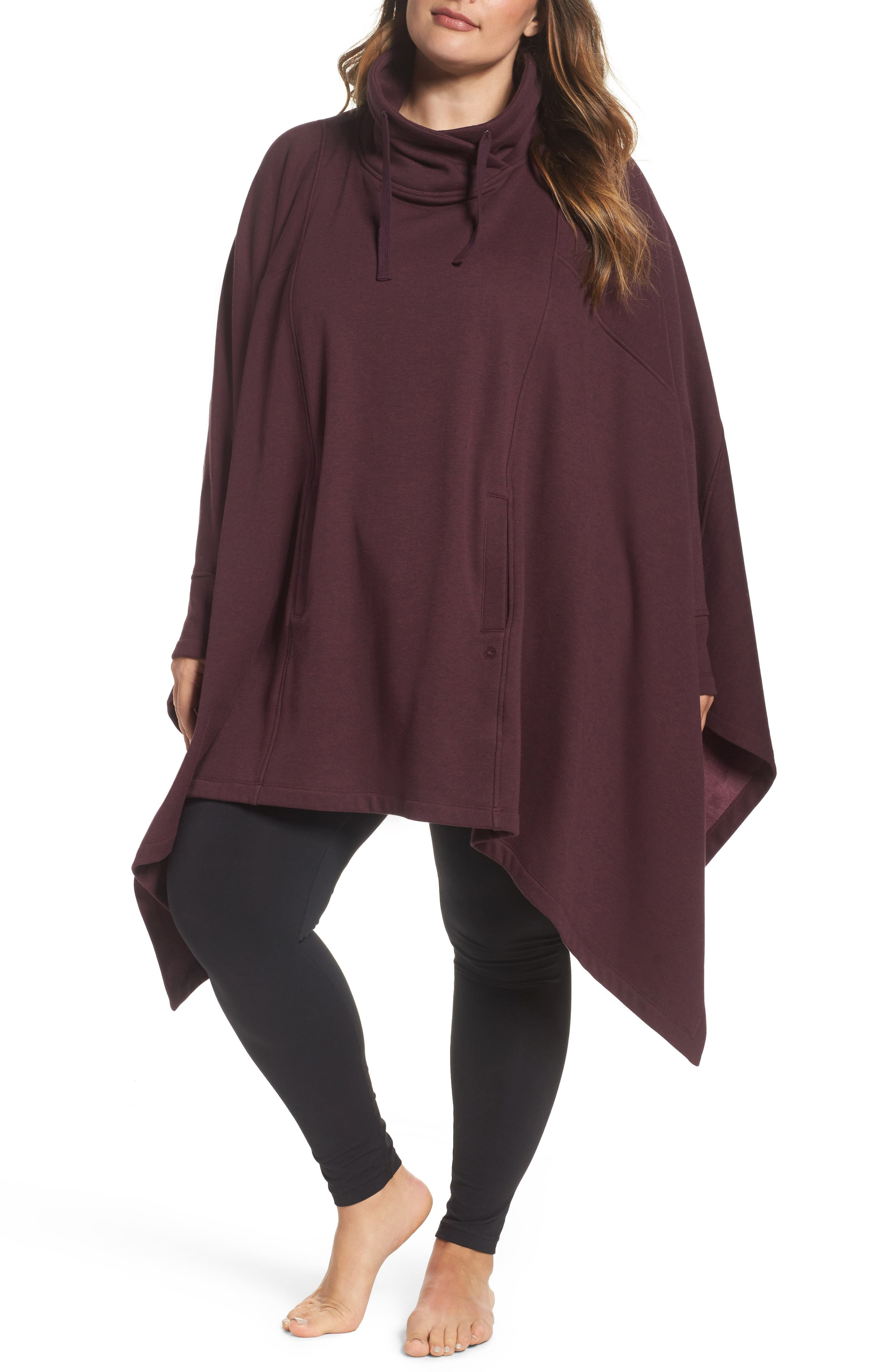 UGG® Cozy Lounge Poncho (Plus Size)