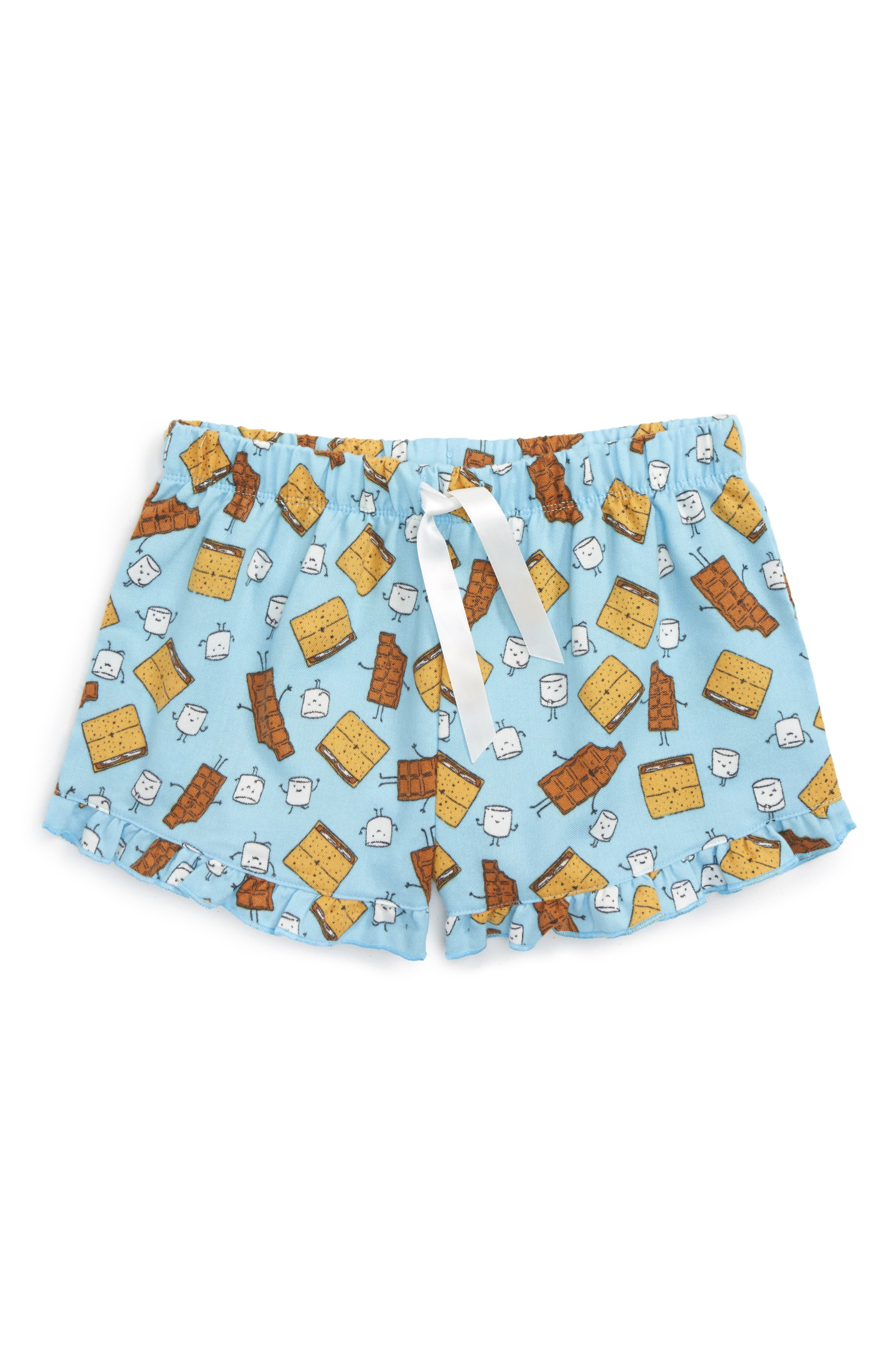 Main Image - Tucker + Tate Flannel Shorts (Big Girls)