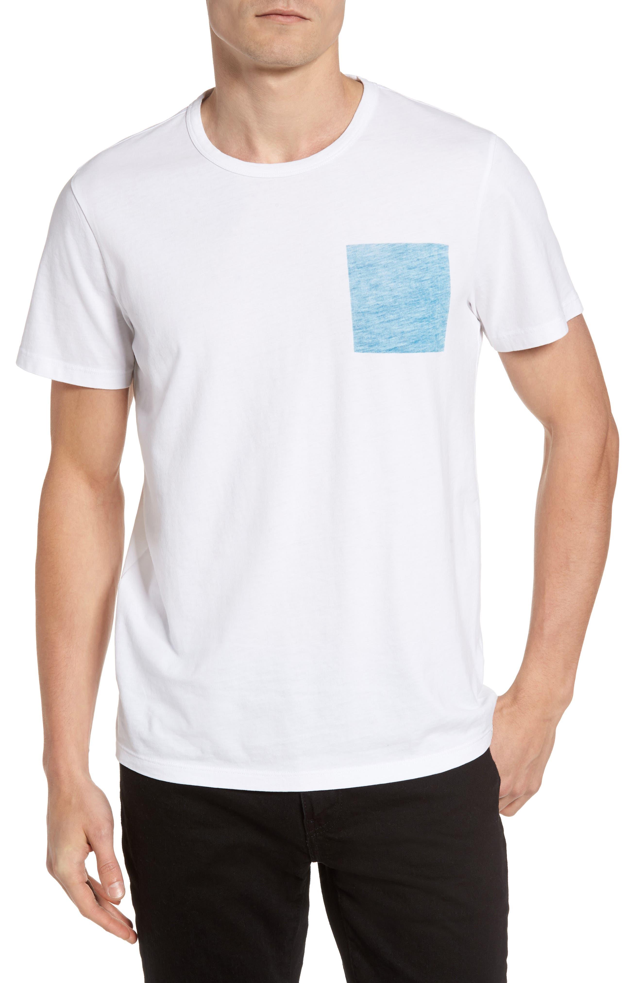 Jason Scott Blue Square T-Shirt