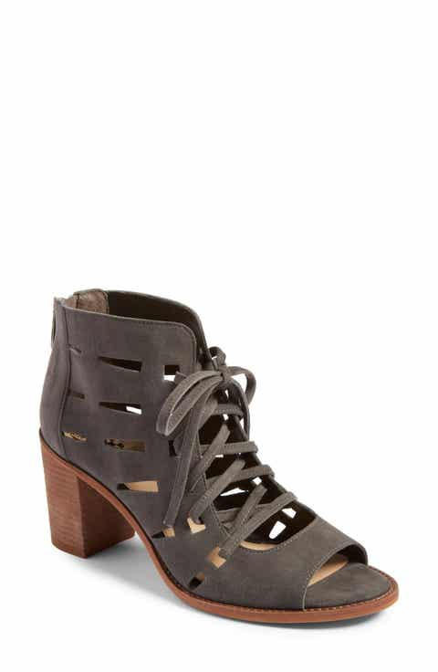 Vince Camuto Tressa Perforated Lace-Up Sandal (Women)
