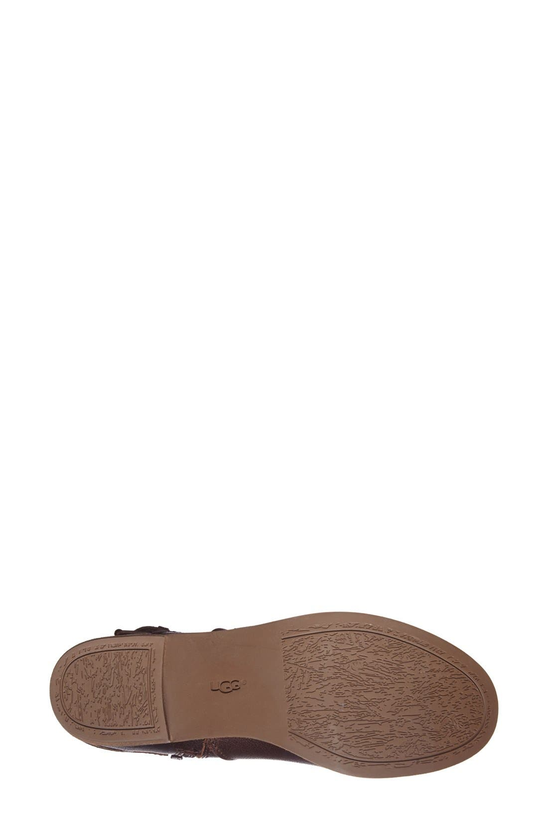 Alternate Image 4  - UGG® Australia 'Volta' Leather Ankle Boot (Women)