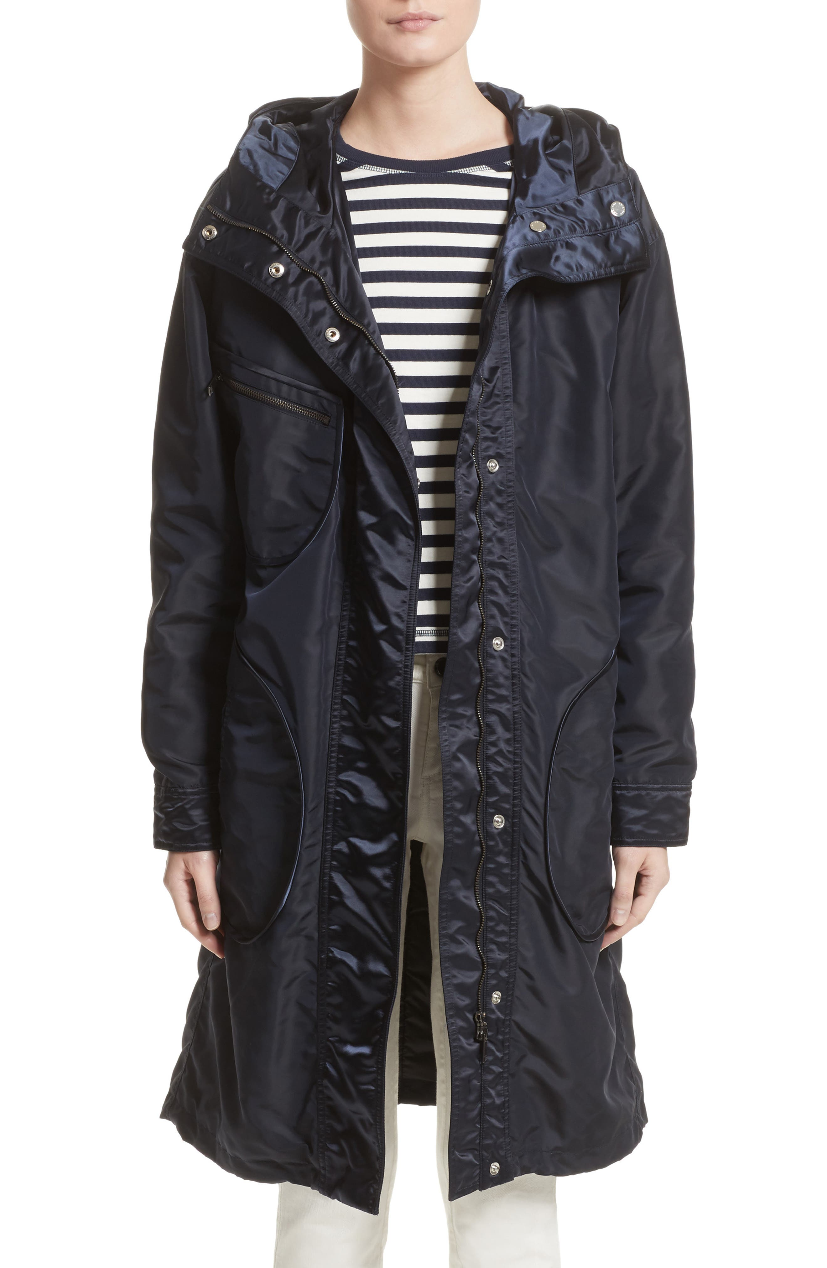 Belstaff Claredon Hooded Raincoat